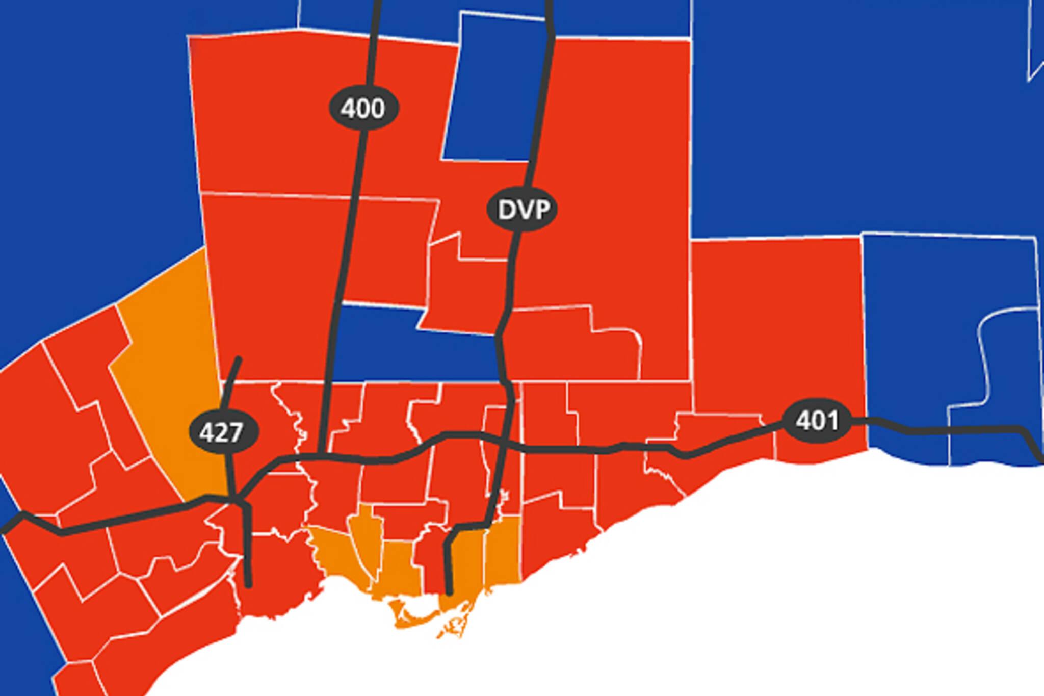 Toronto vote provincial election 2011