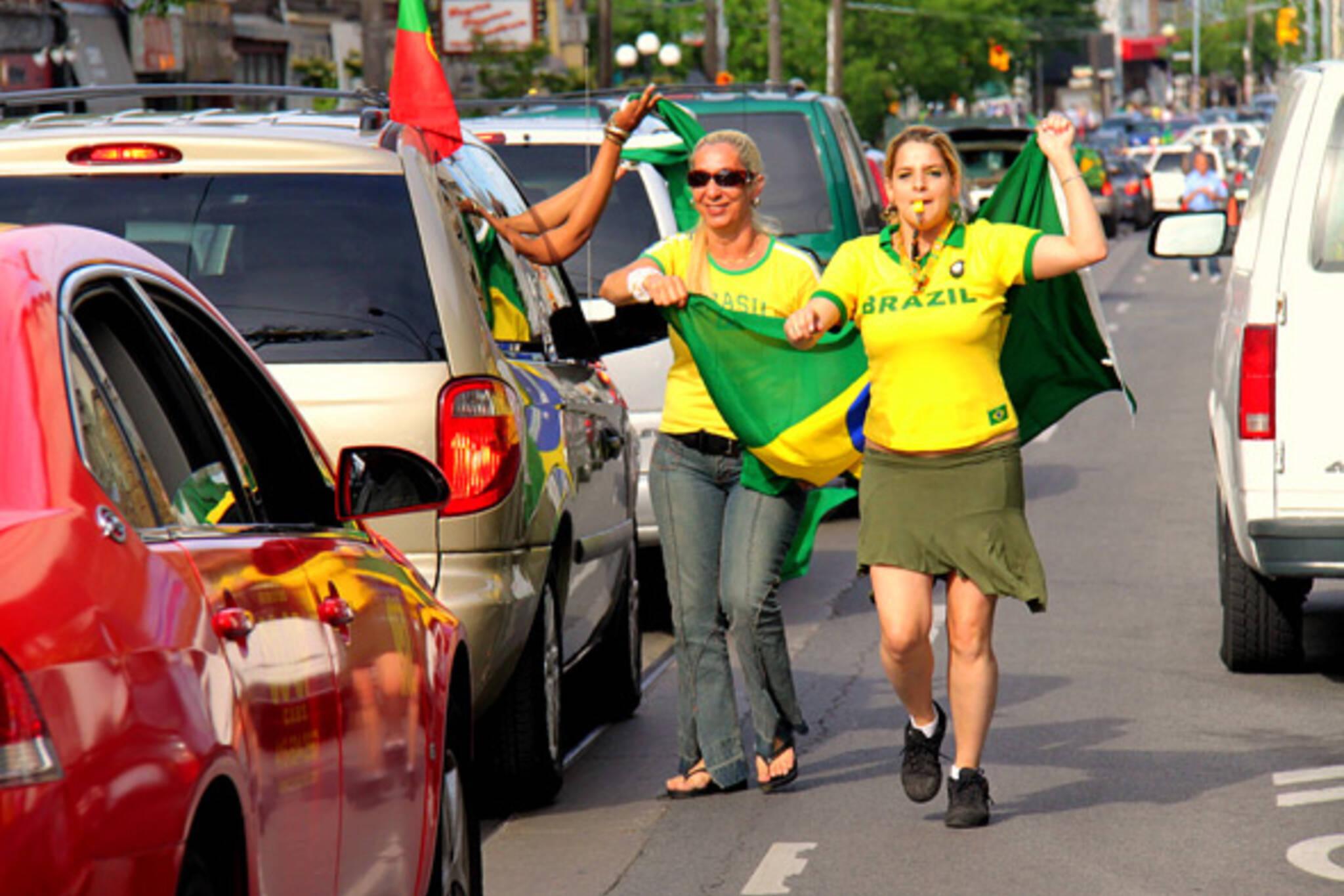 Brazil World Cup Toronto Celebration