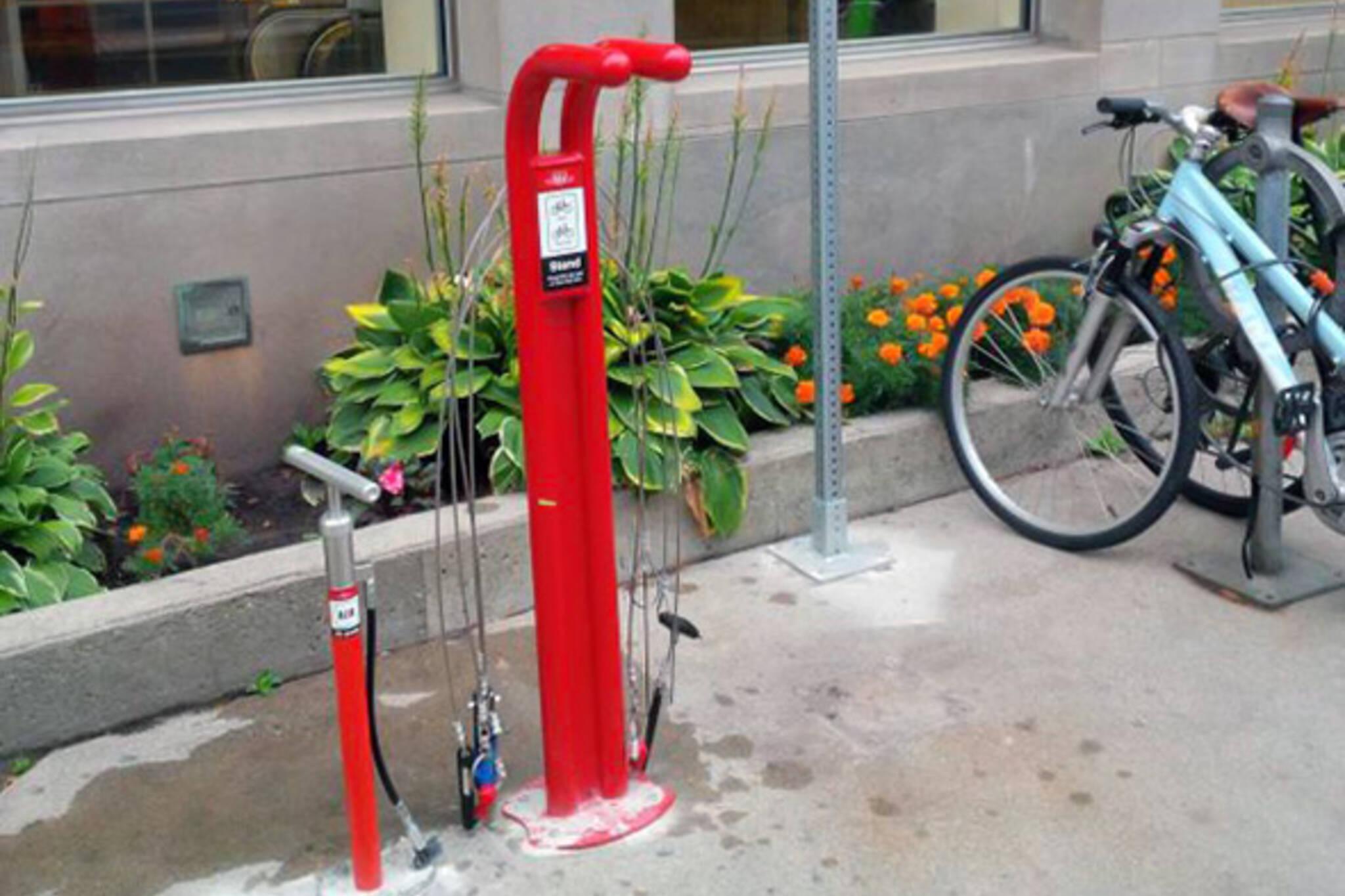 ttc bike repair station