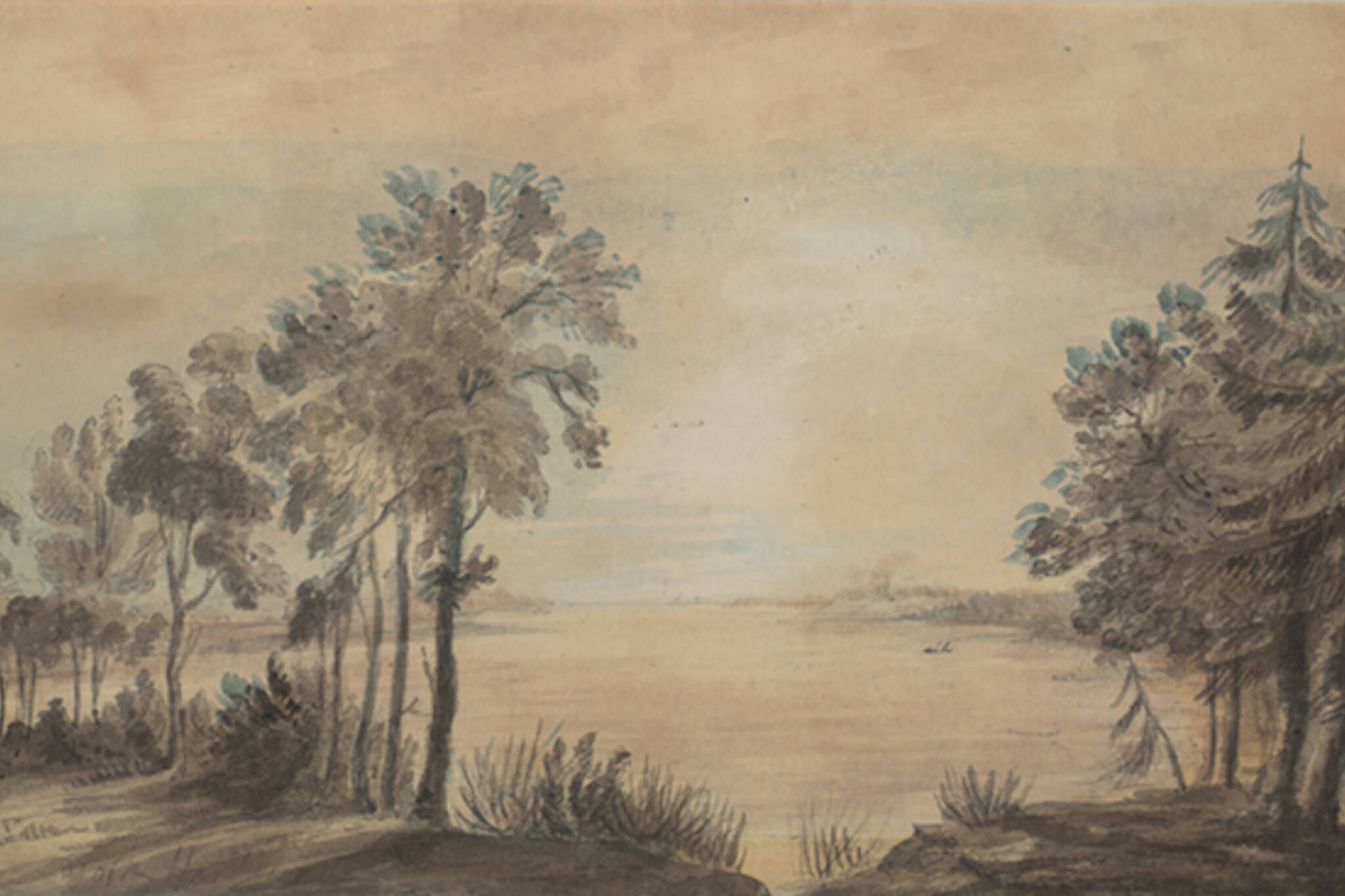 toronto islands elizabeth simcoe painting