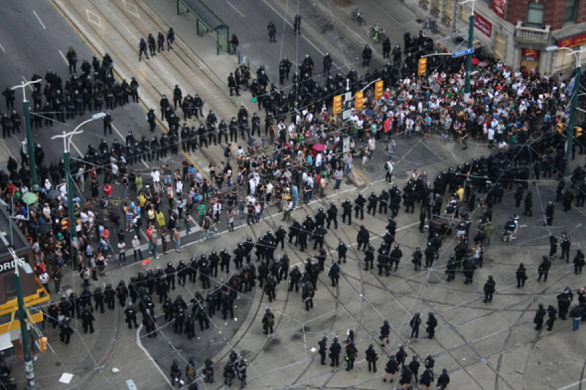 Queen Spadina g20 toronto