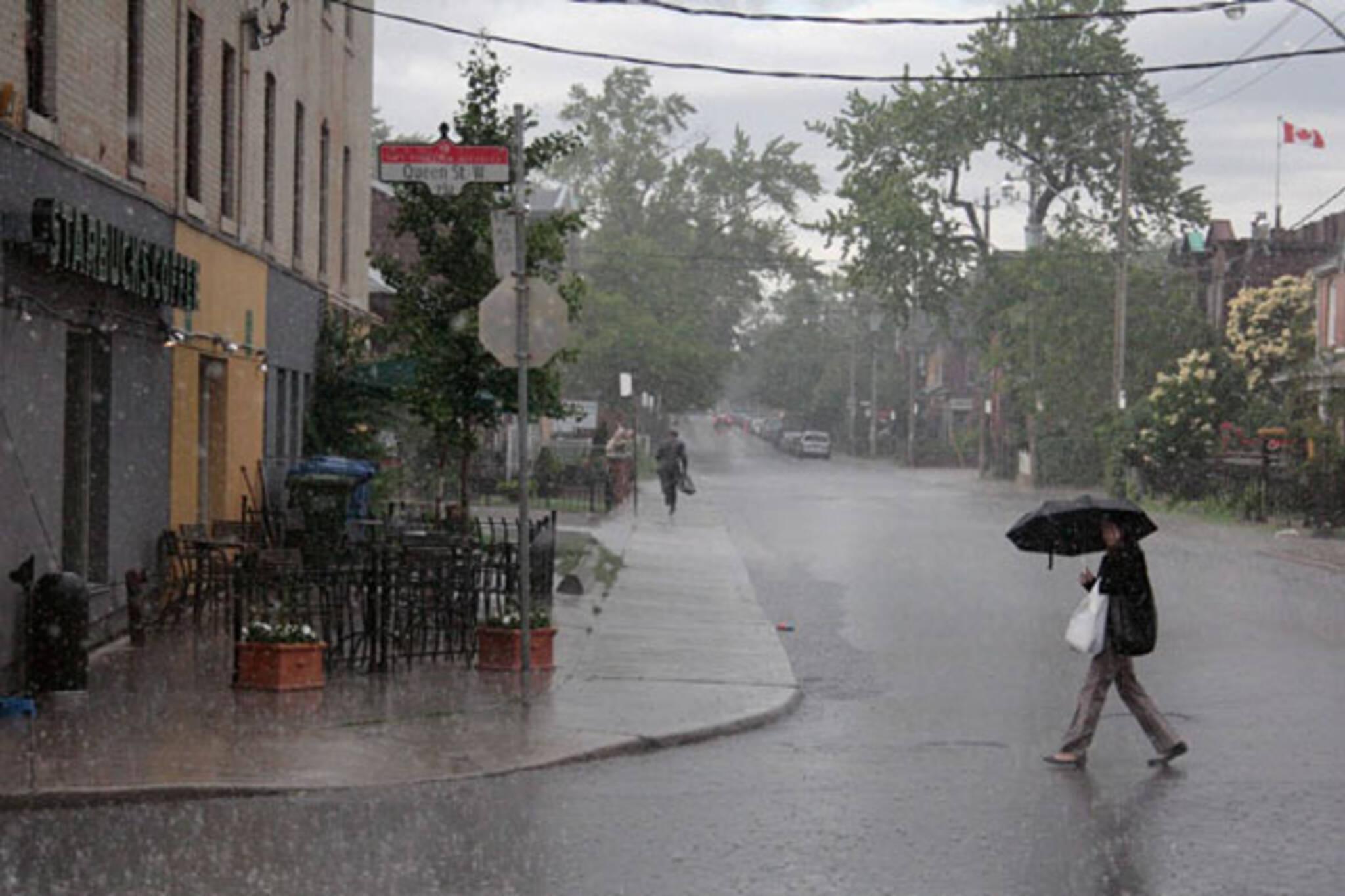 toronto wacky weather storm