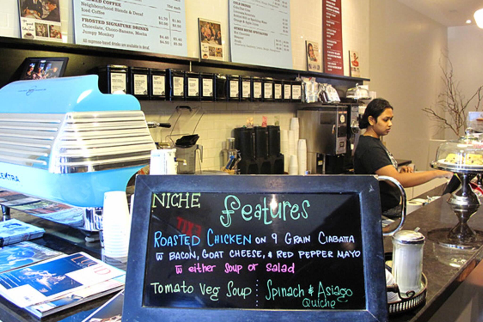 niche espresso and coffee