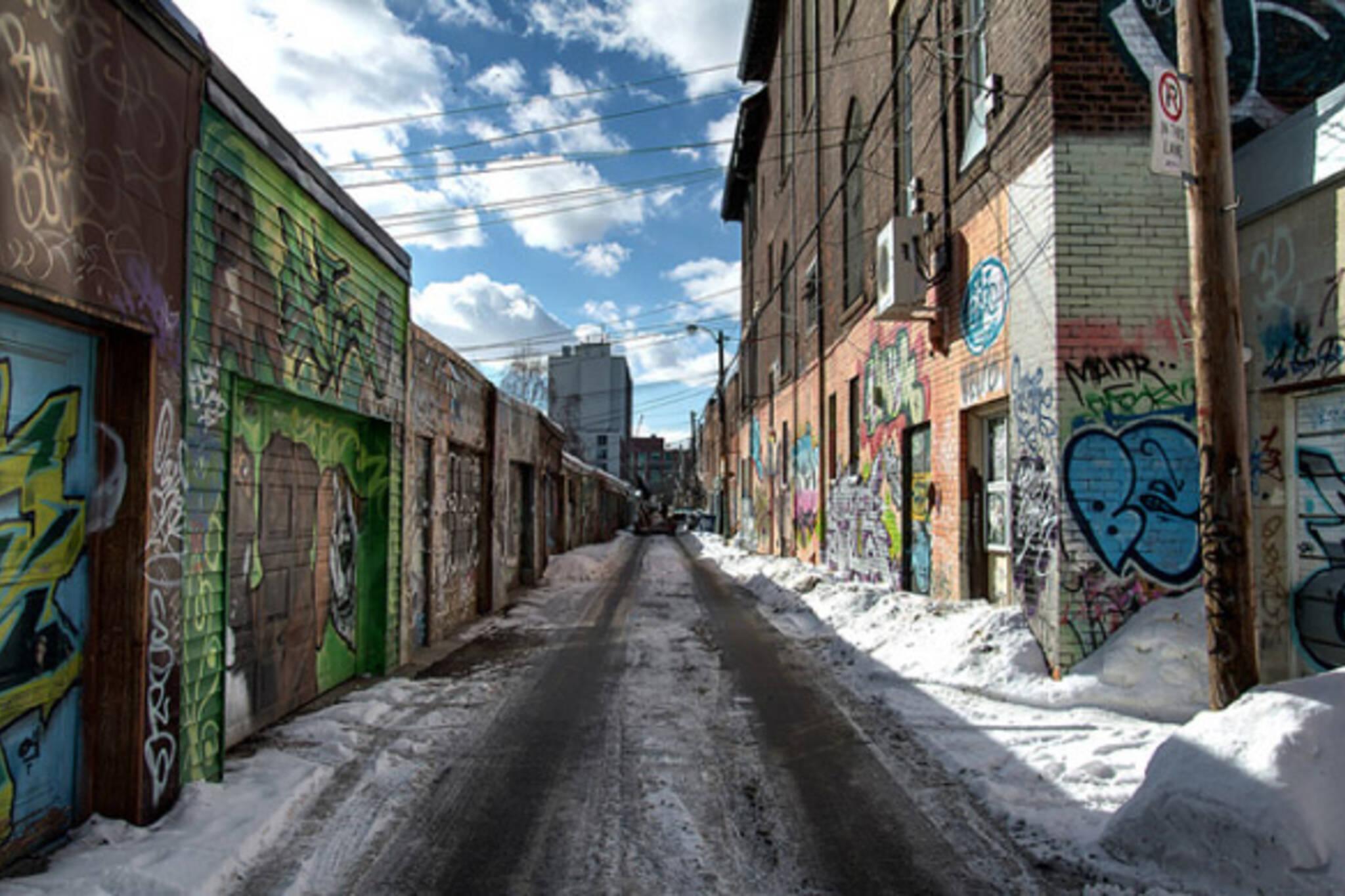Toronto alleys