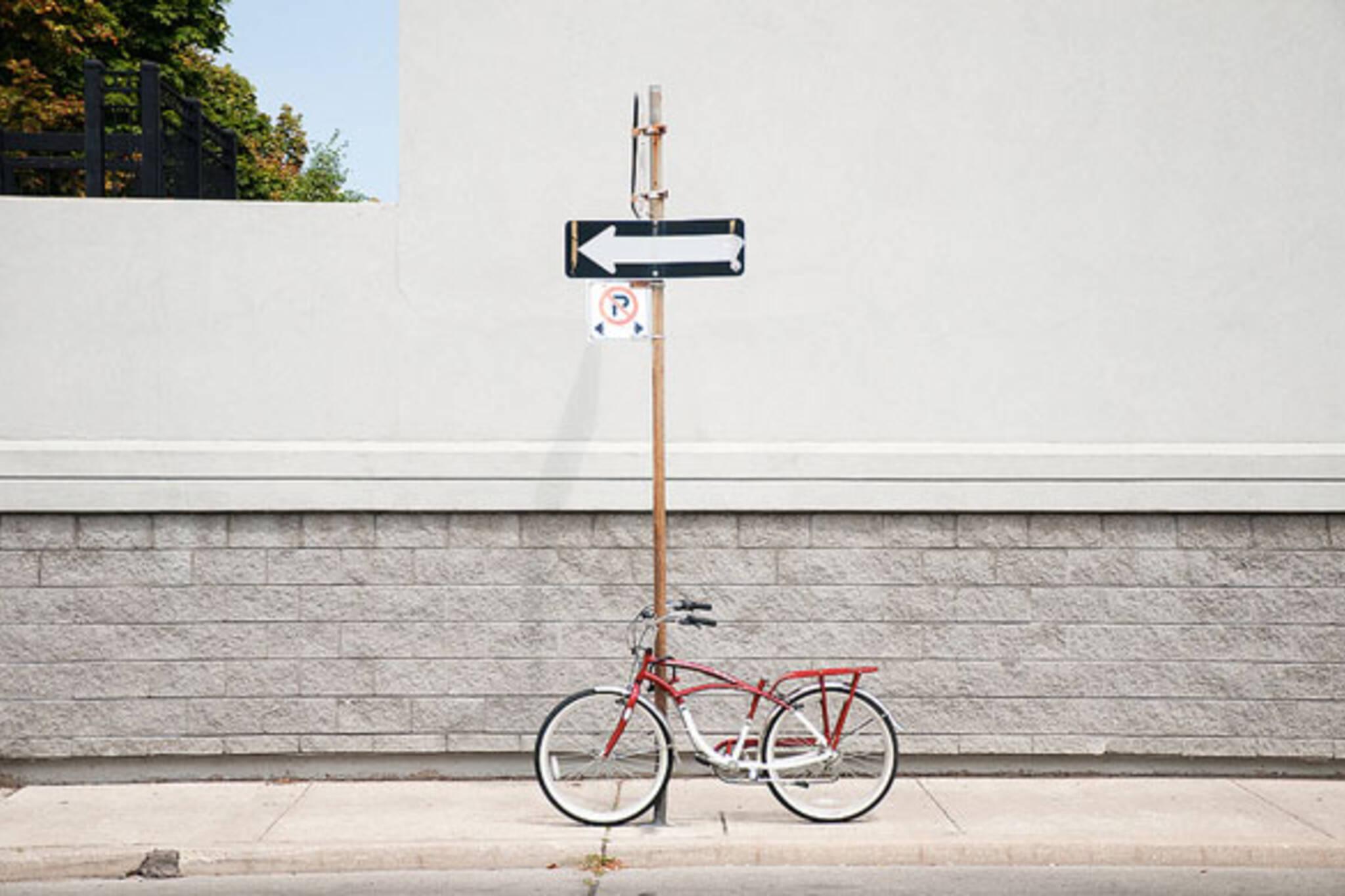 toronto bike post