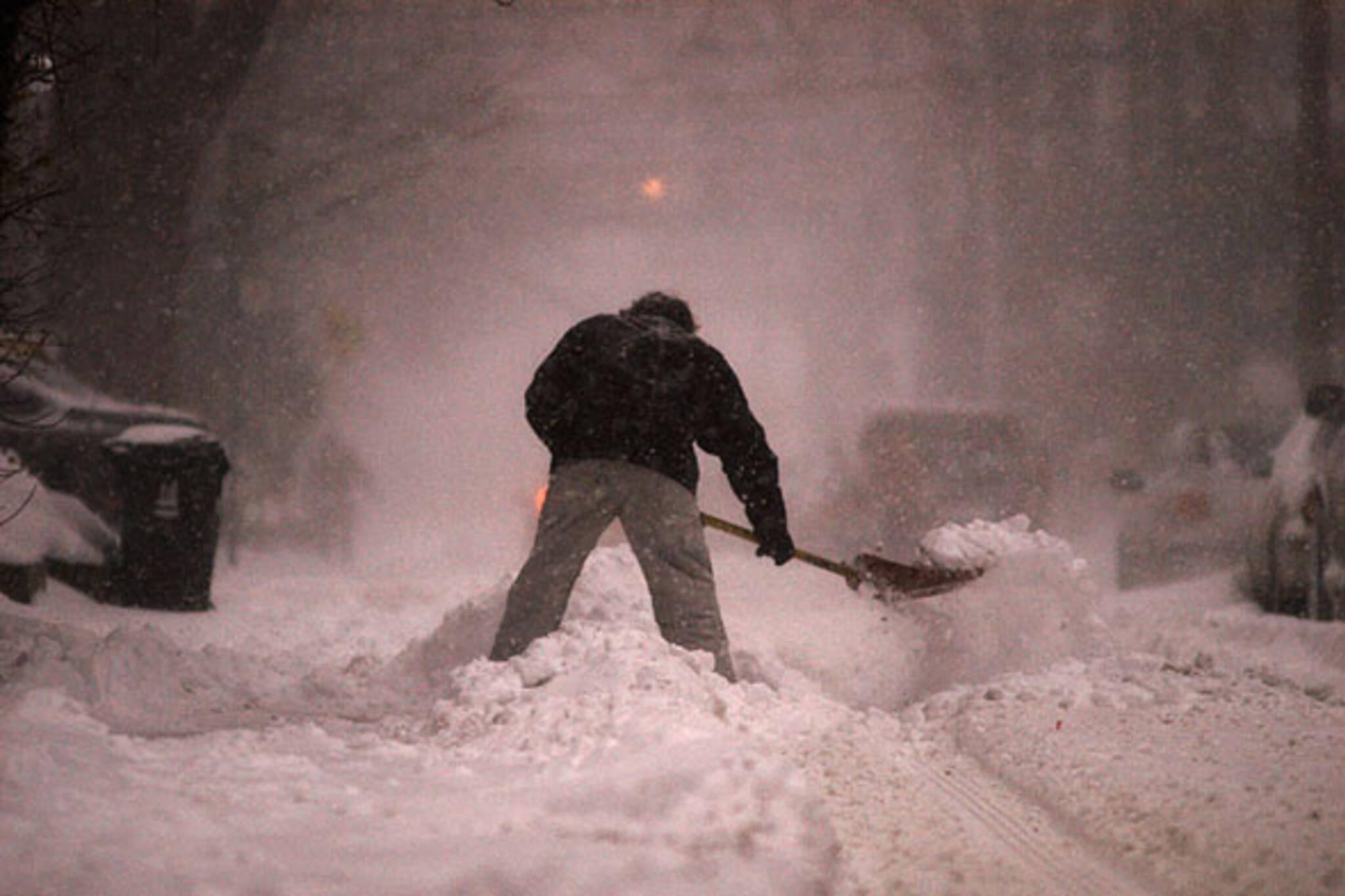 snowmageddon toronto 2008