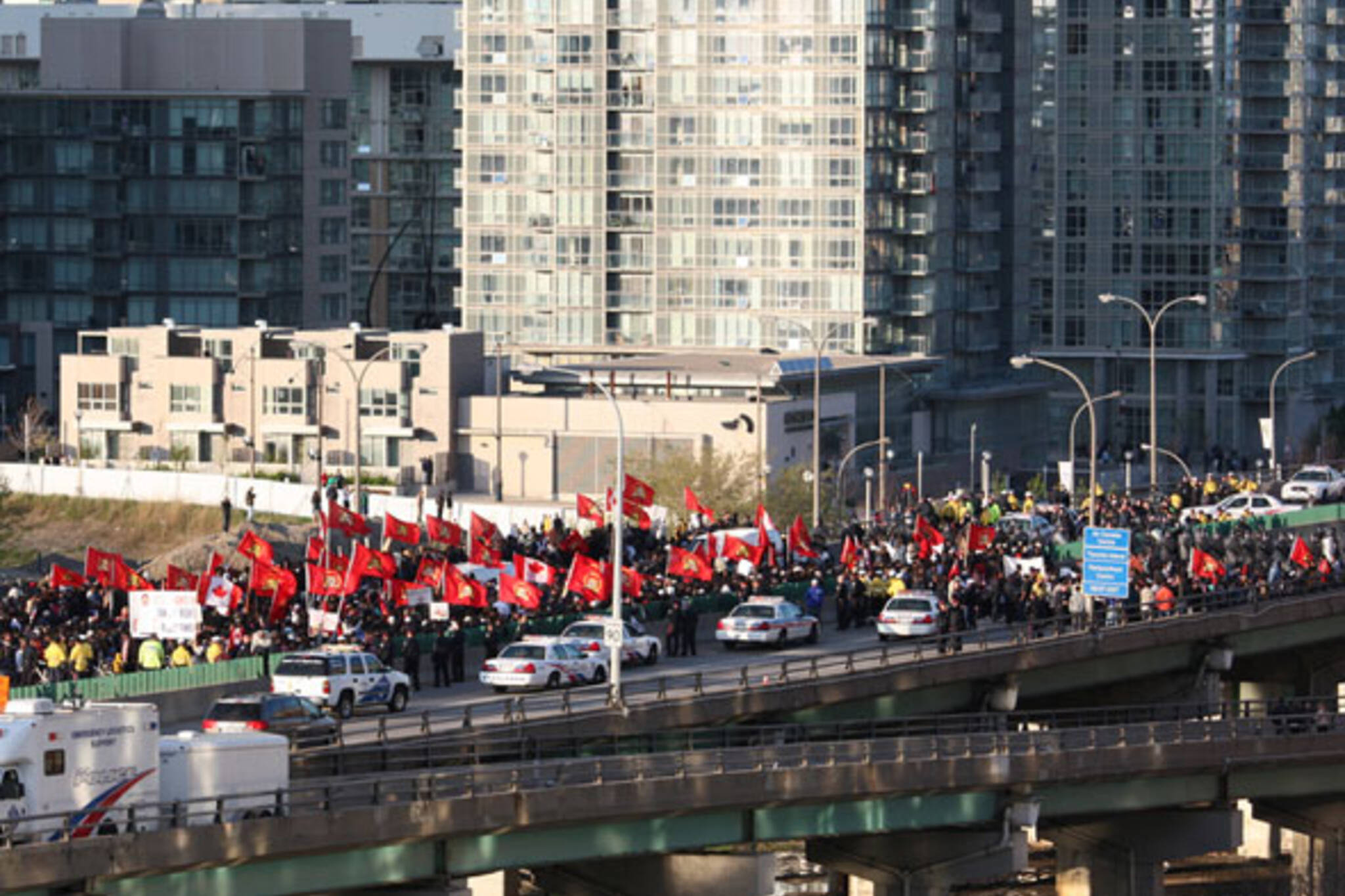 Tamil Protests Toronto