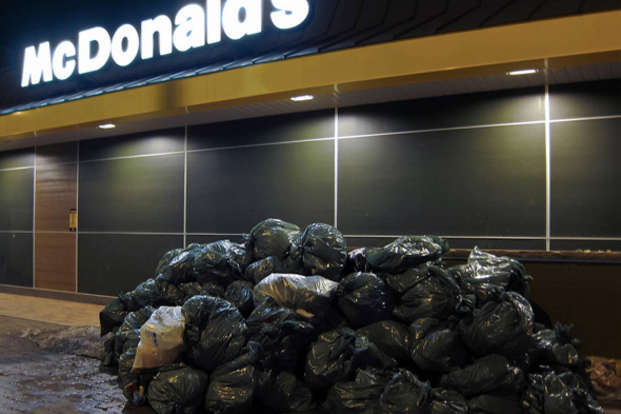 McDonald's Garbage