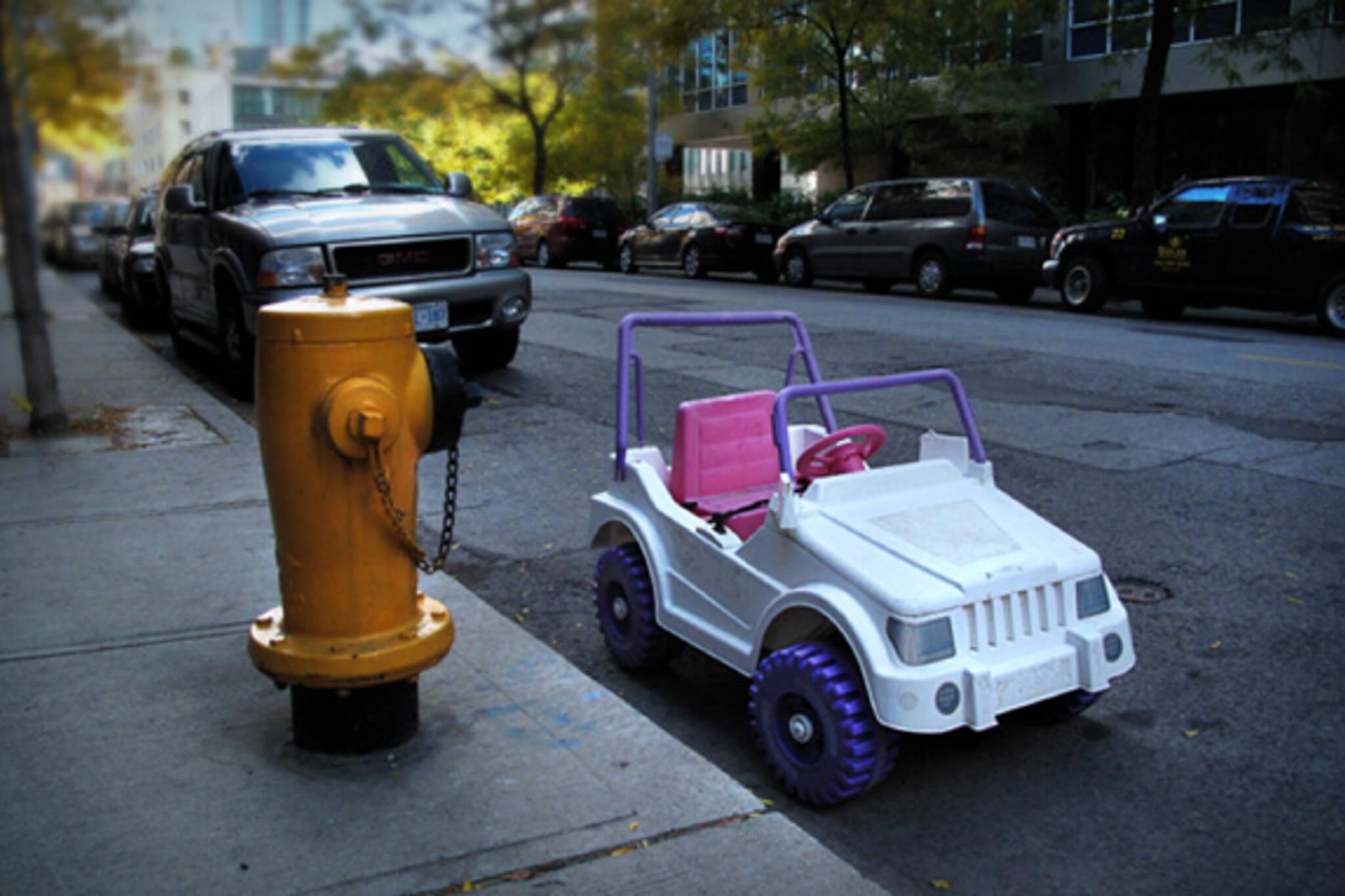 toy car parking toronto