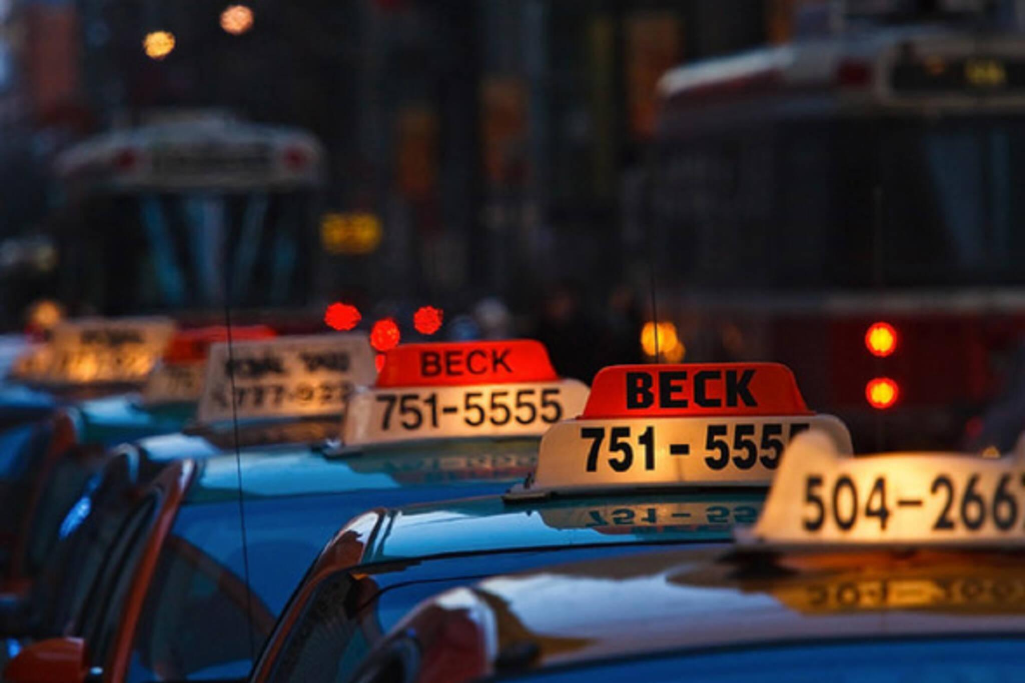 Toronto taxis