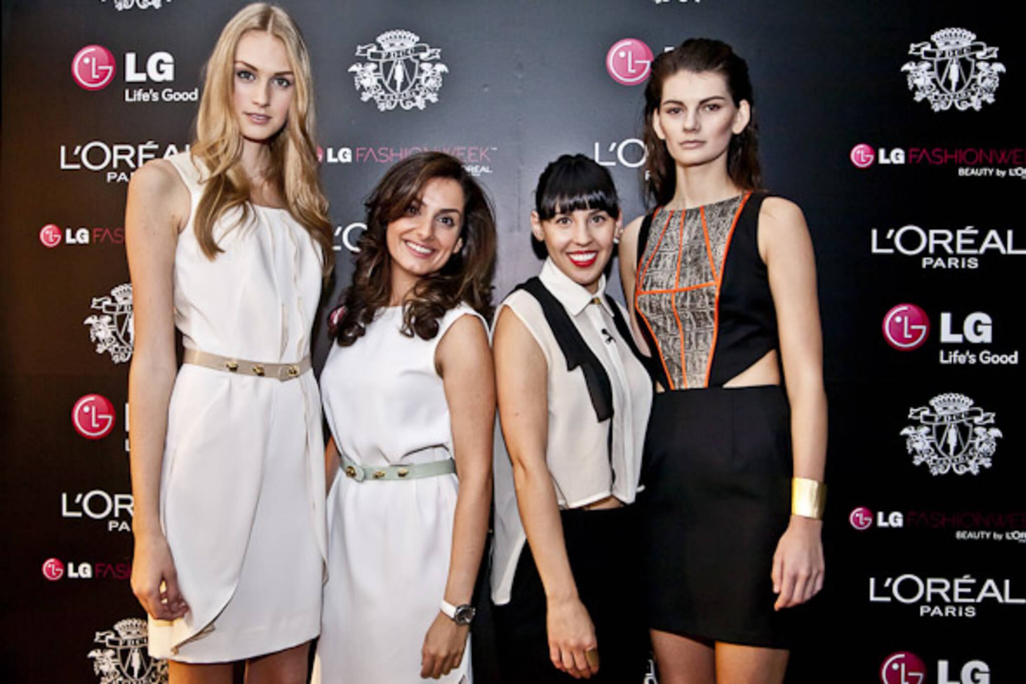 Ashtiani & Caitlin Power Fashion