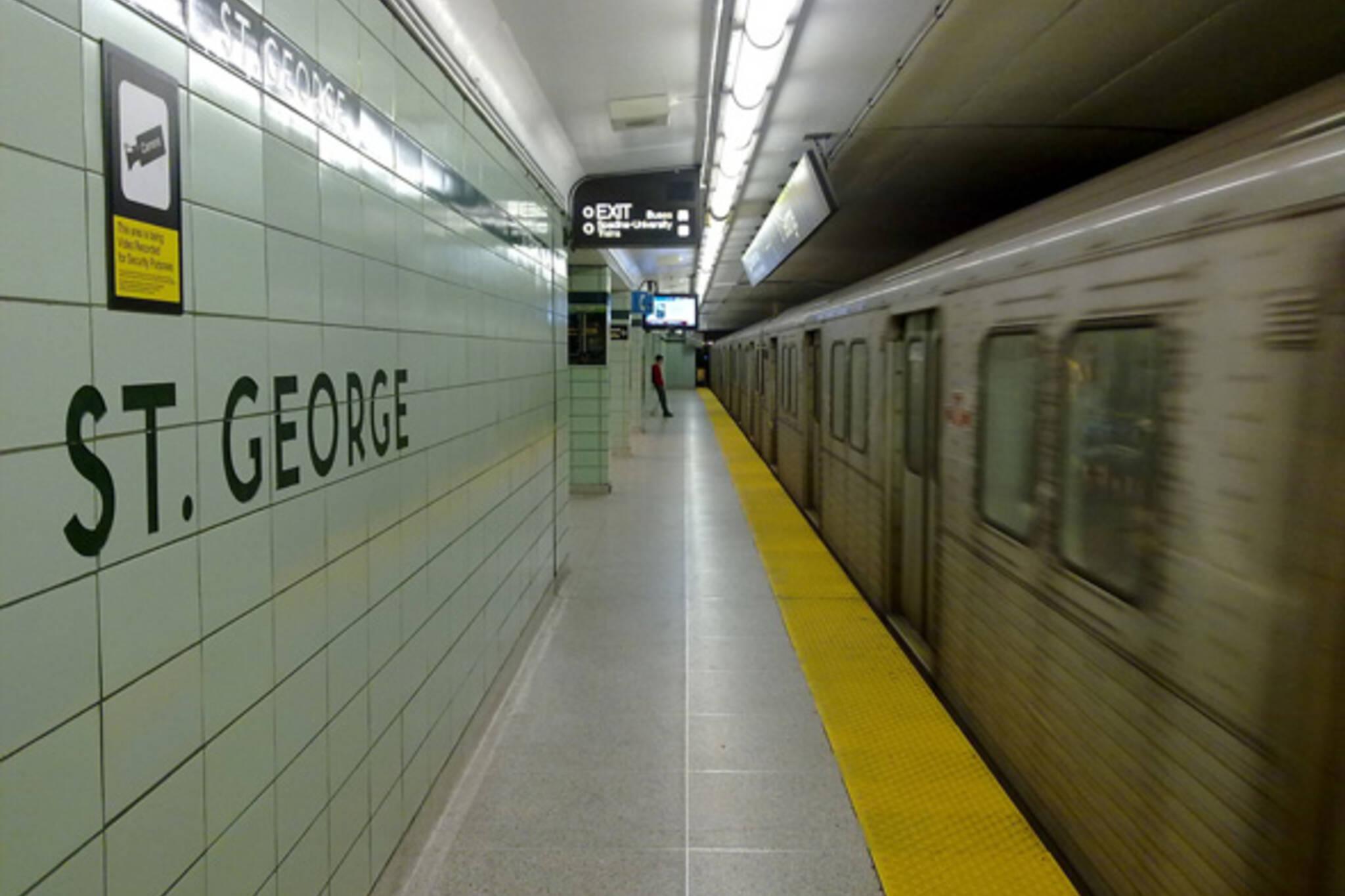 St. George Station Toronto