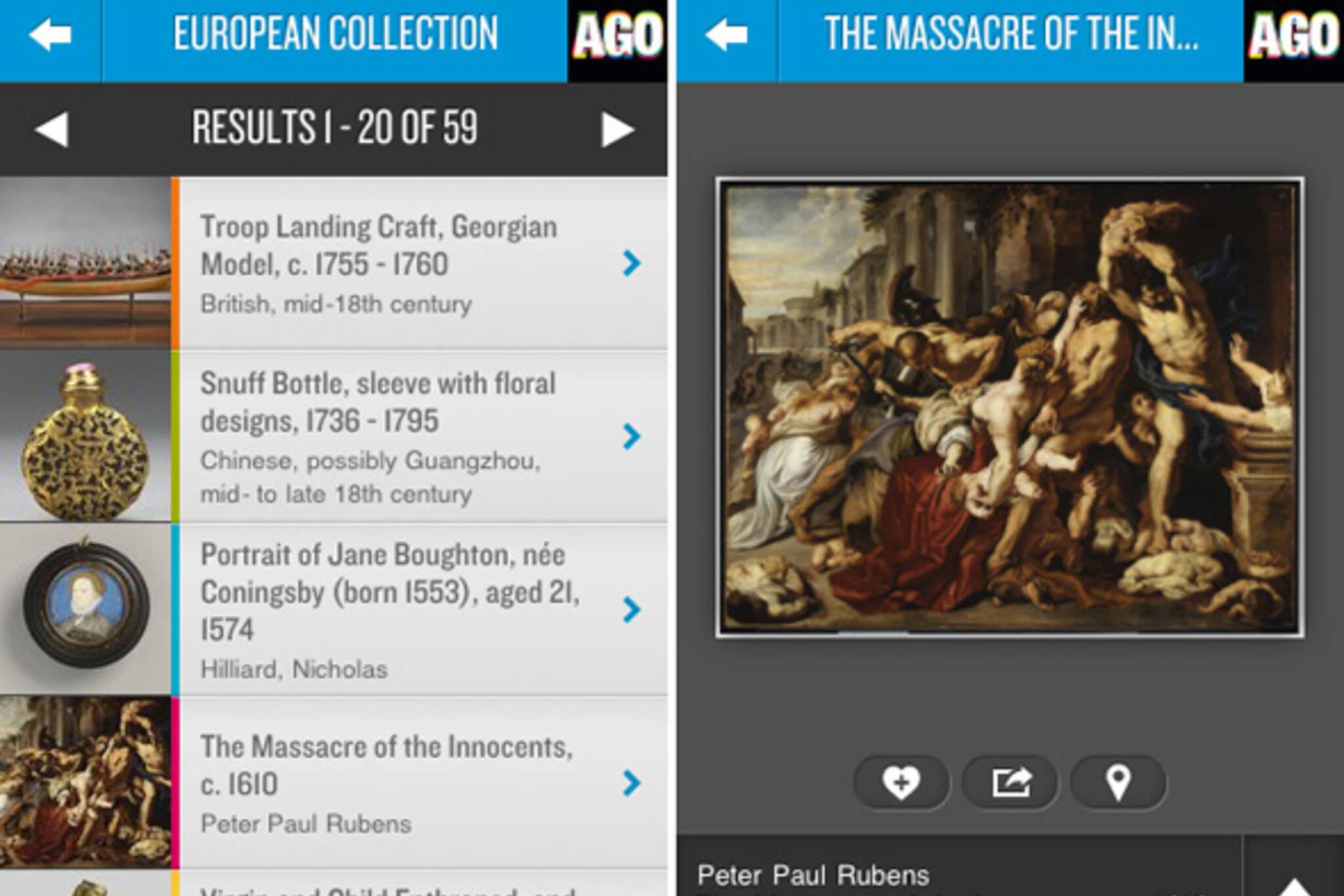AGO mobile app