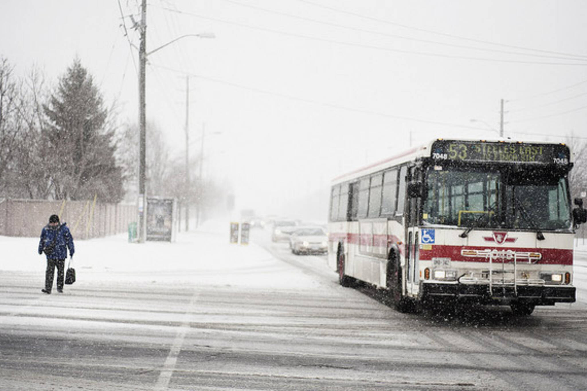 TTC Bus Service Cuts 2012