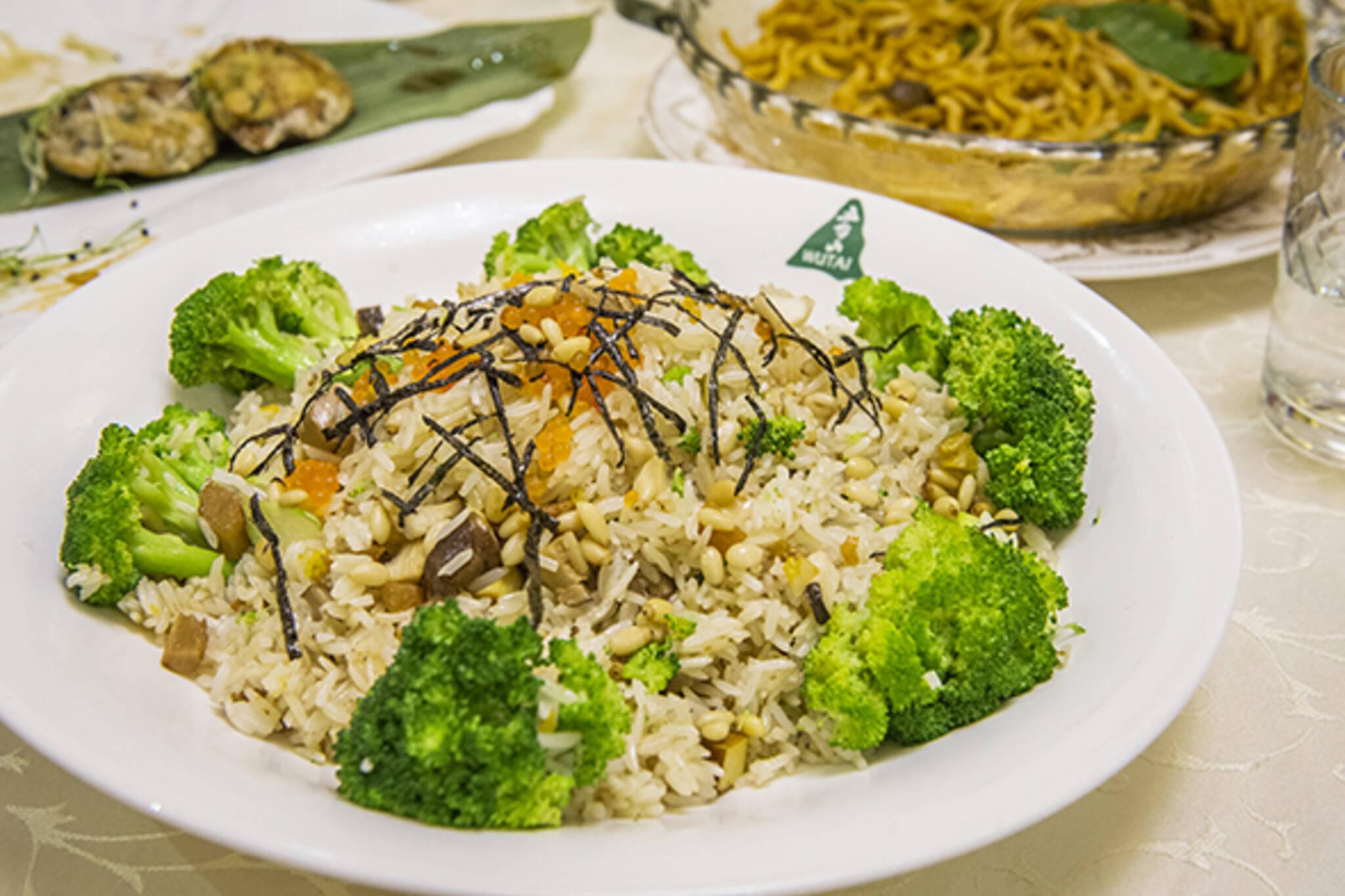 wutai vegetarian restaurant
