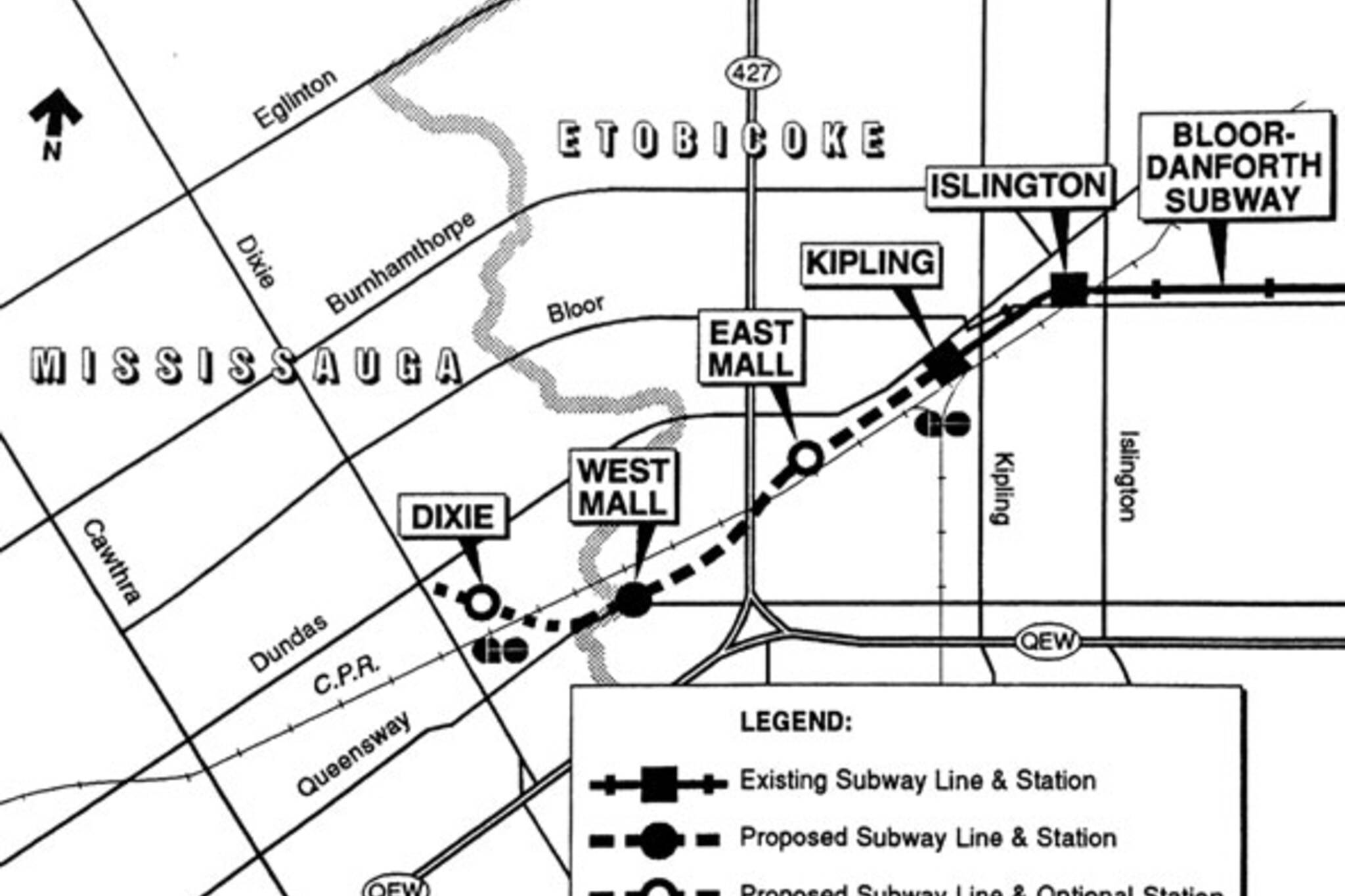 toronto subway extension