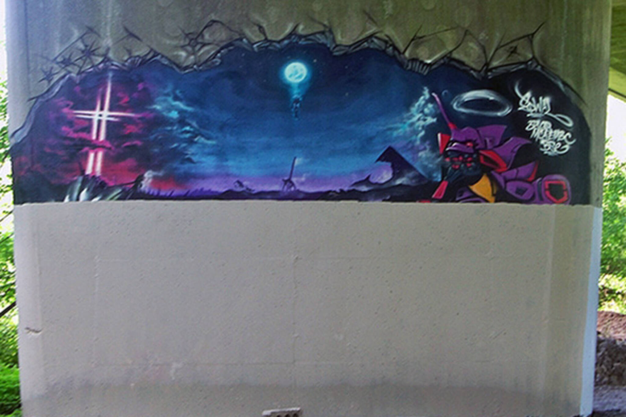 graffiti crackdown Toronto