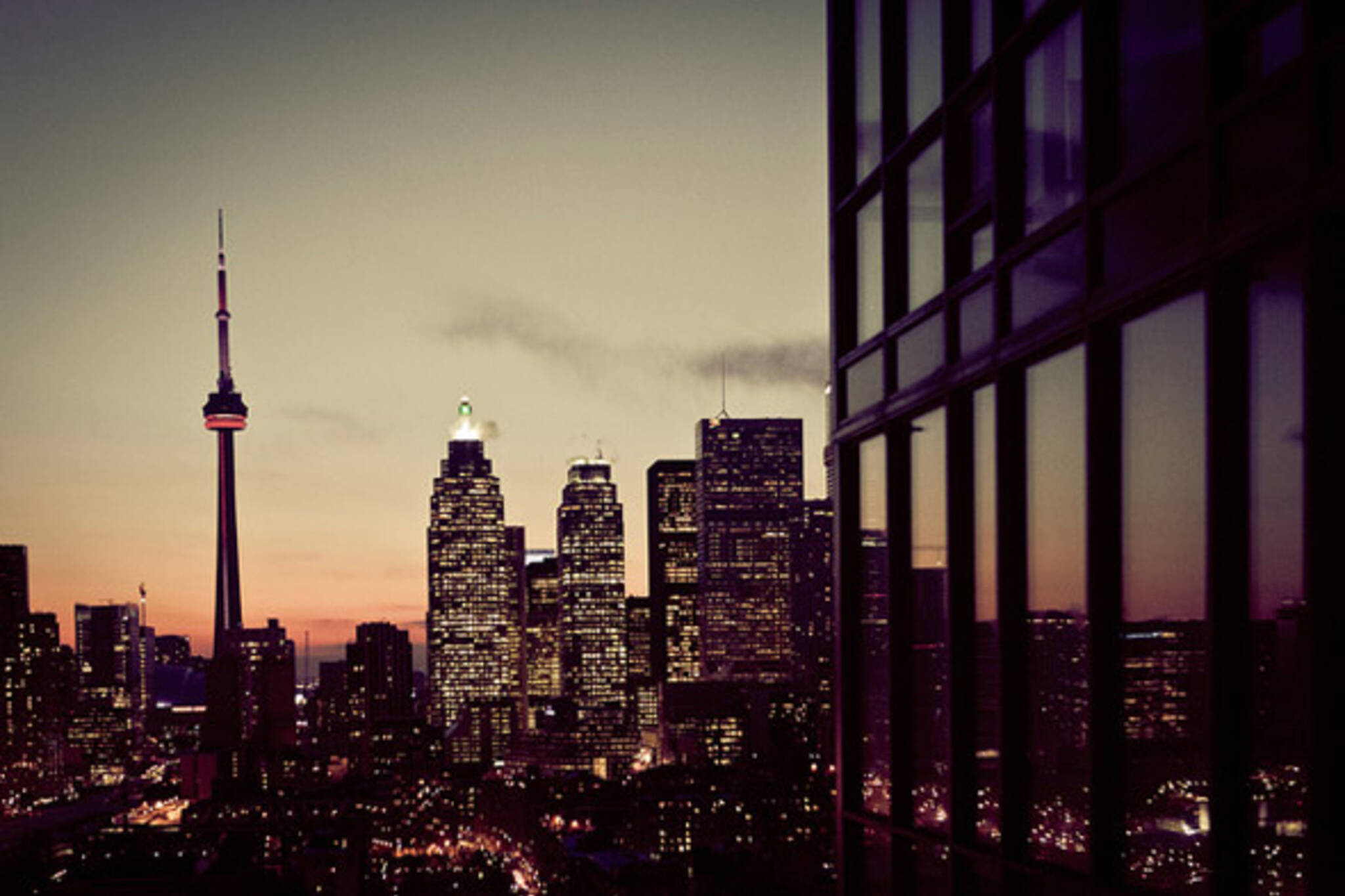 TO CN Tower