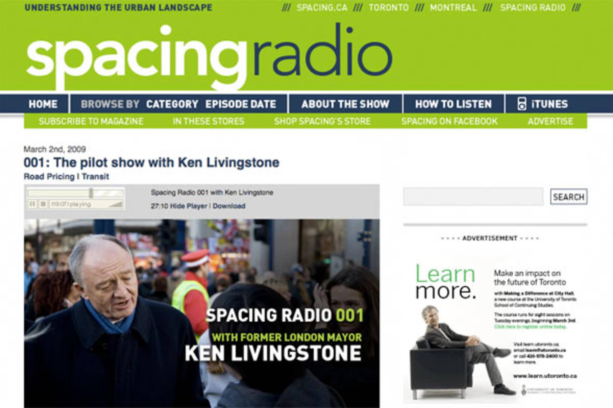 spacing radio podcast