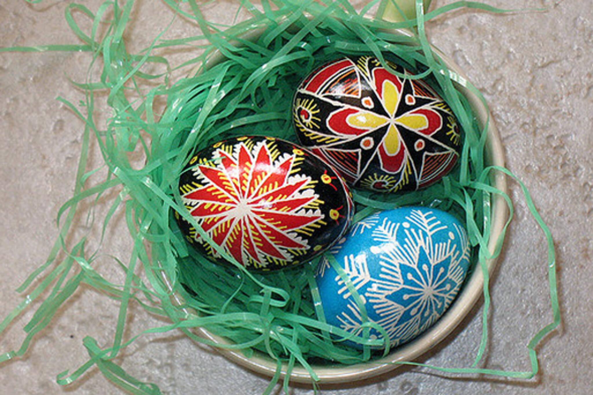 Ukrainian Easter eggs Toronto