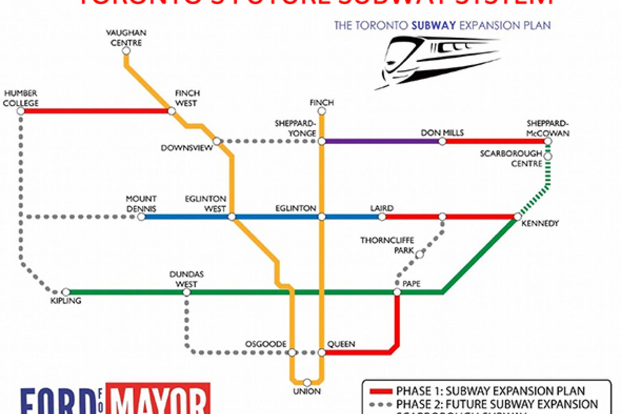 rob ford subway