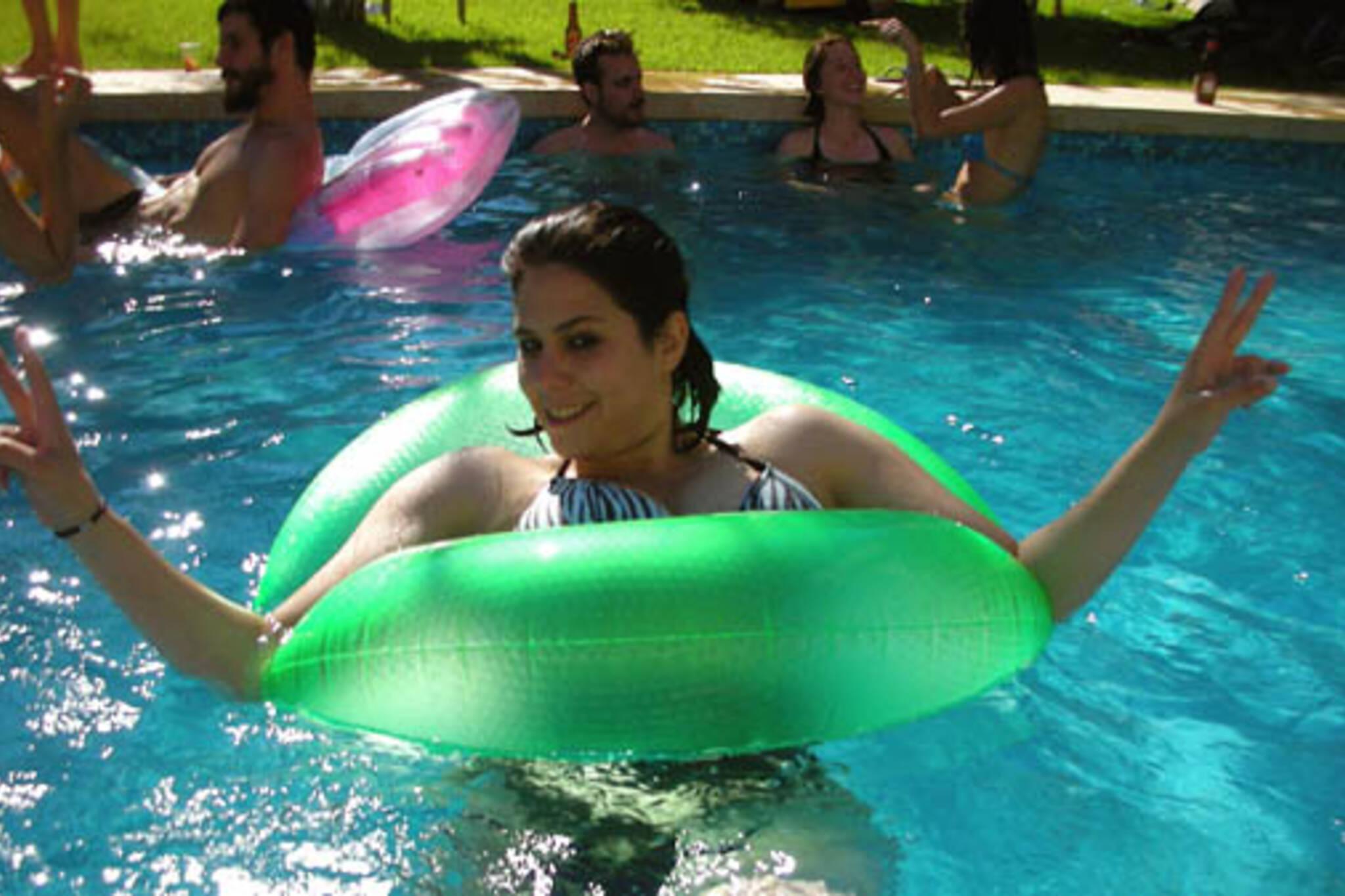 Solar Pool Party