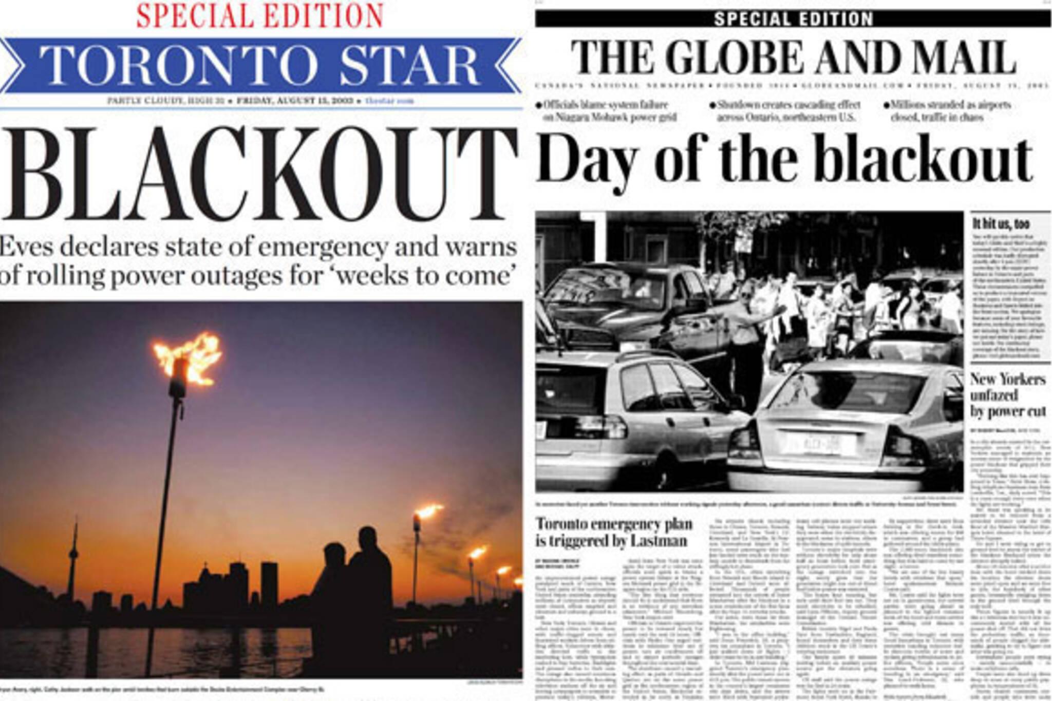 toronto 2003 blackout