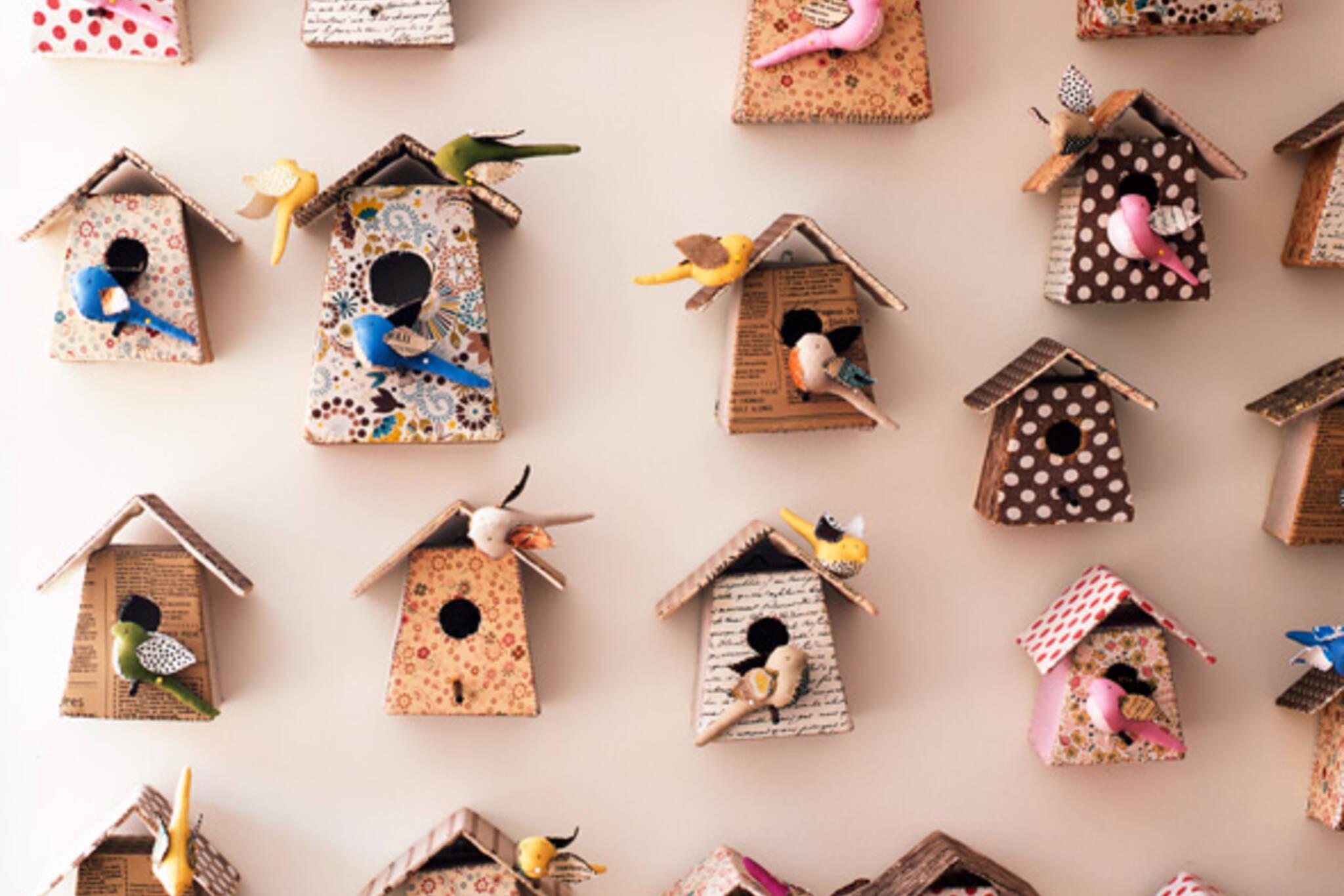 Tamar Morgendorff birdhouse