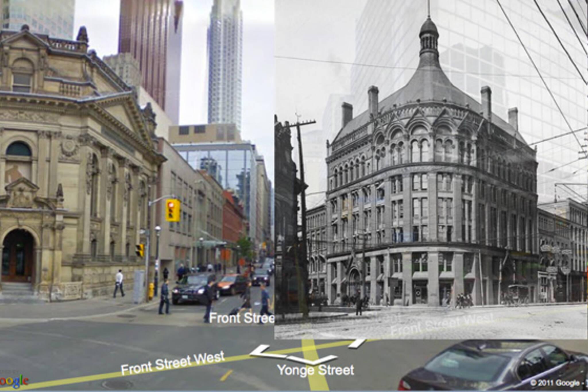 Toronto heritage map