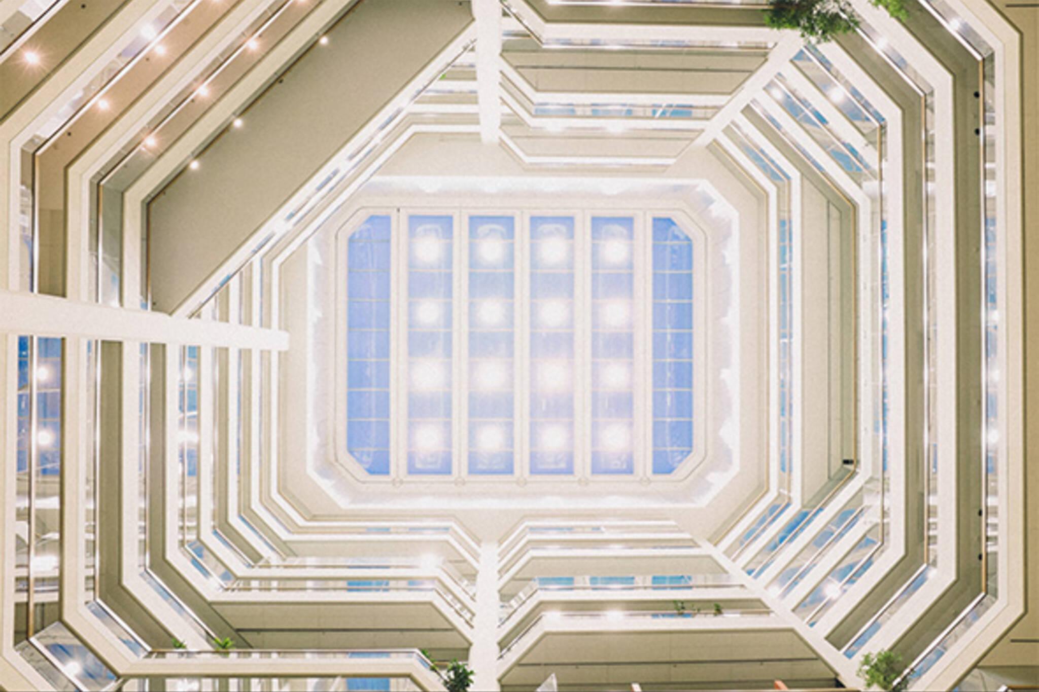 atrium on bay