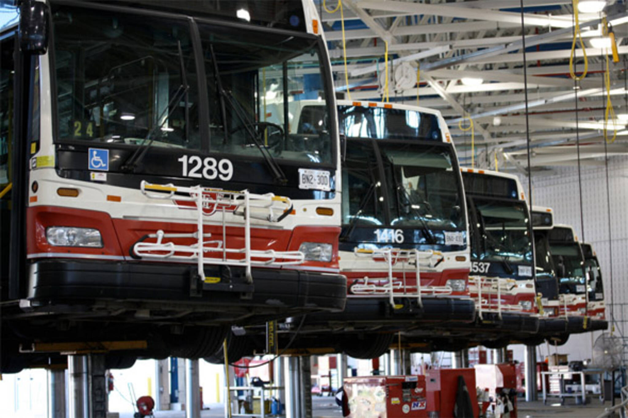 ttc bus maintenance