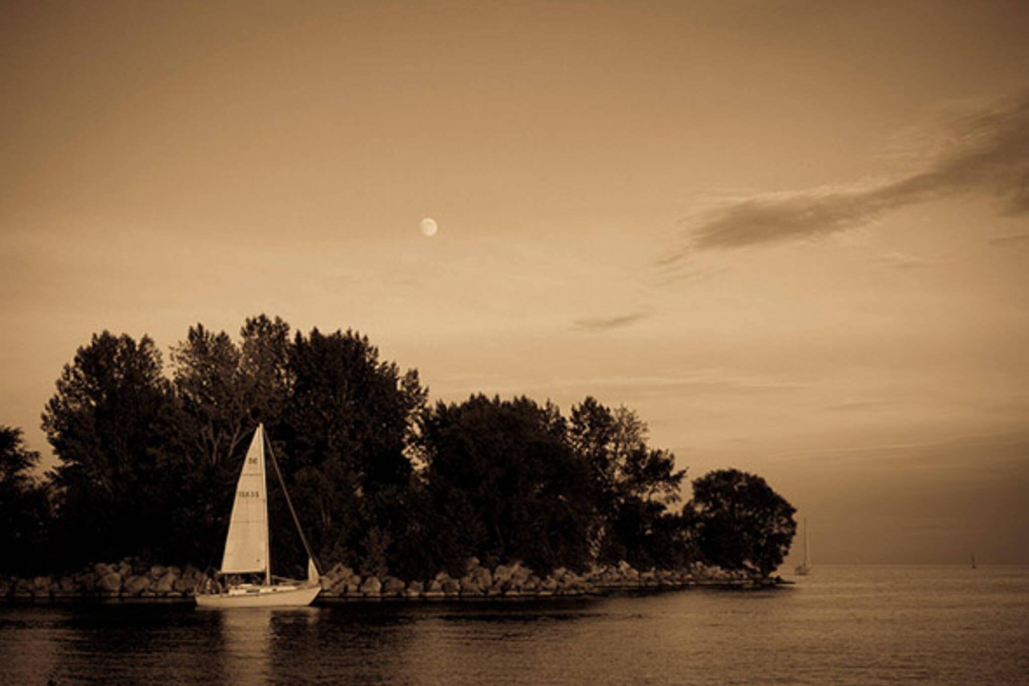 sail, boat, water