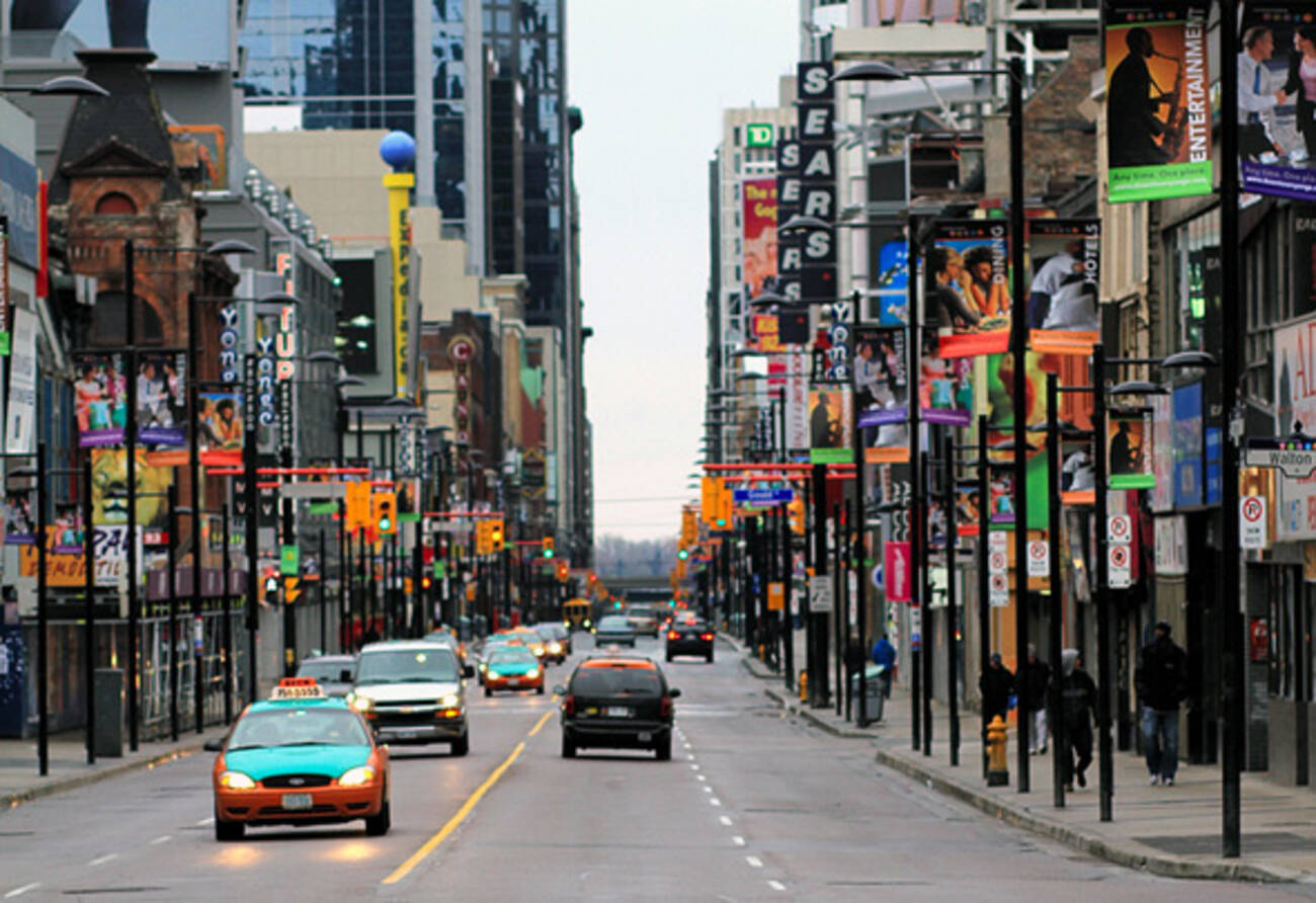 Yonge St Might Get A Lot More Pedestrian Friendly Soon