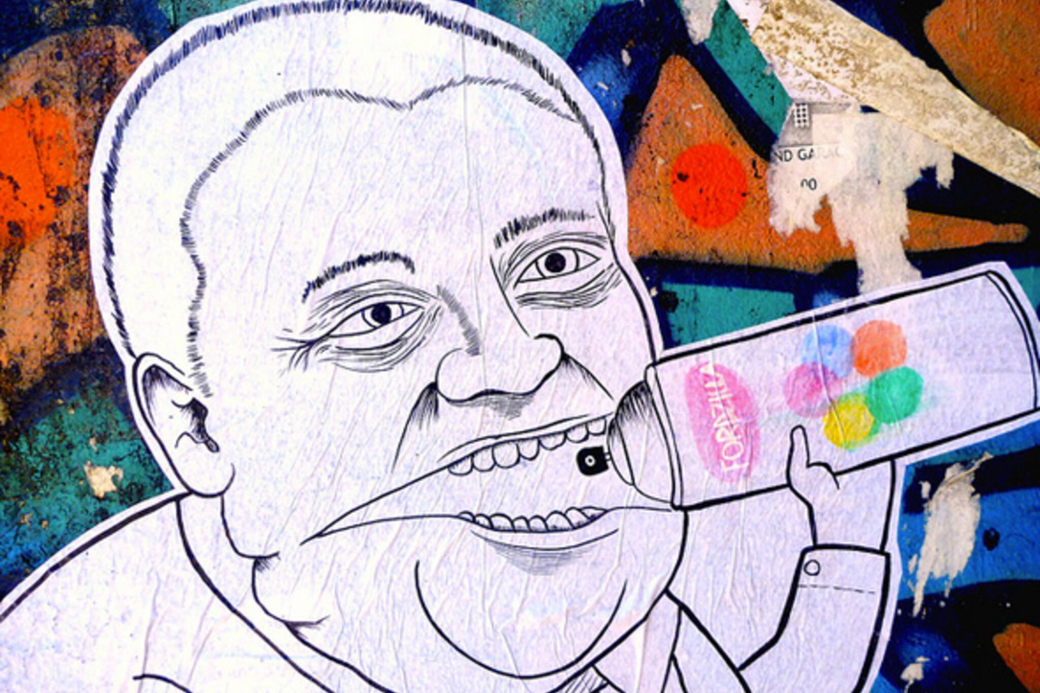 Rob Ford Graffiti Wheatpaste