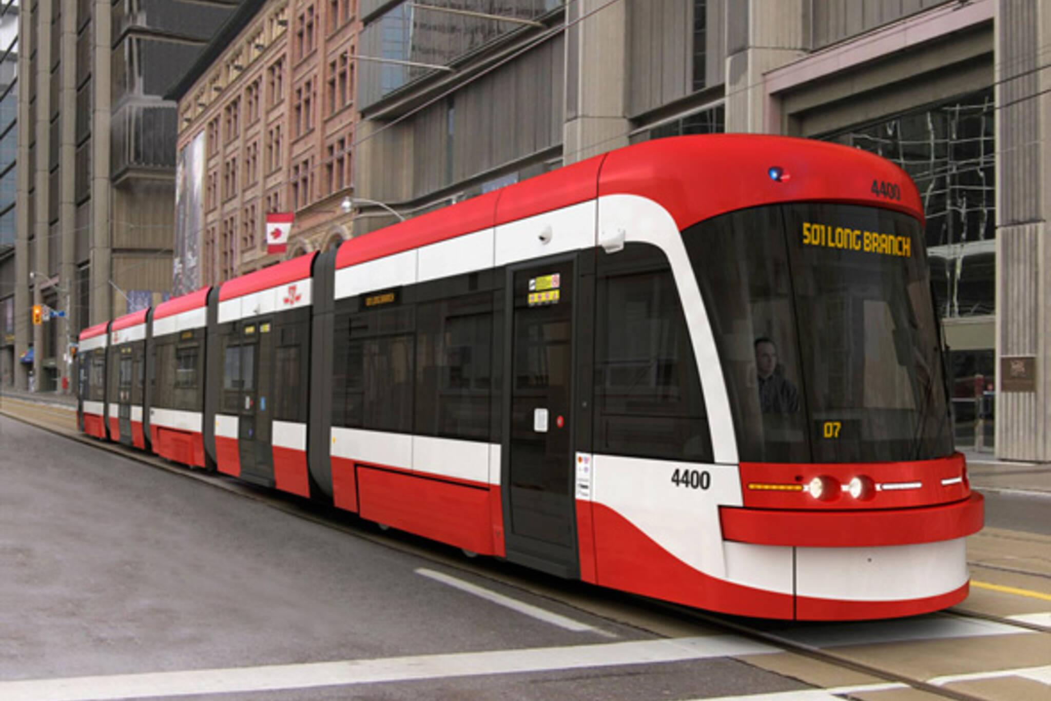 New TTC Streetcar 2011