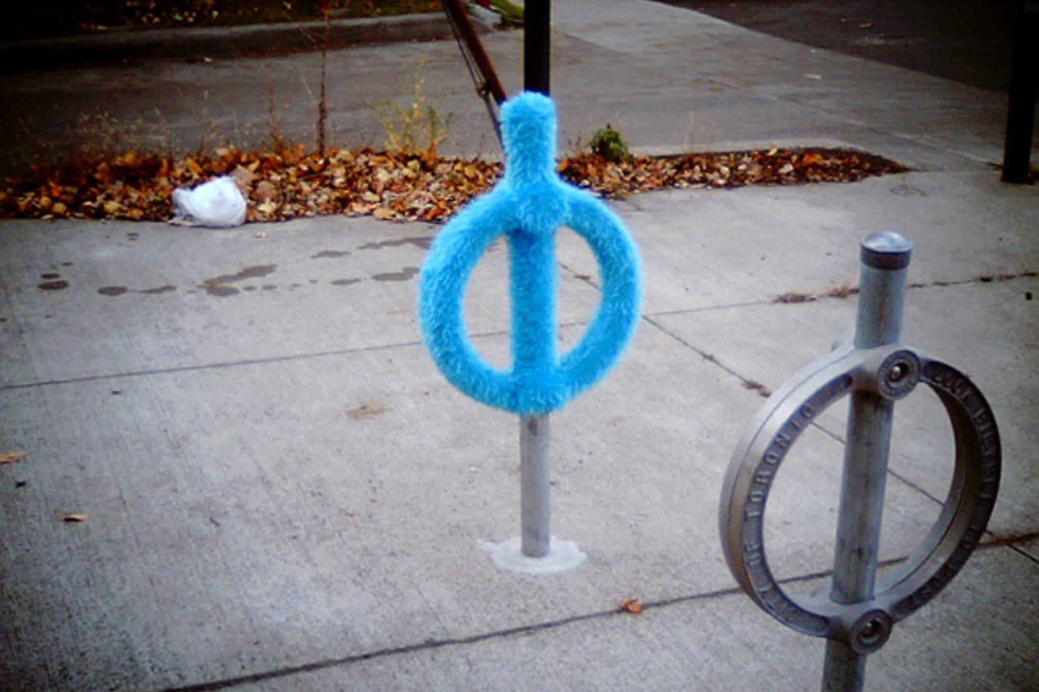 yarn bike lock toronto