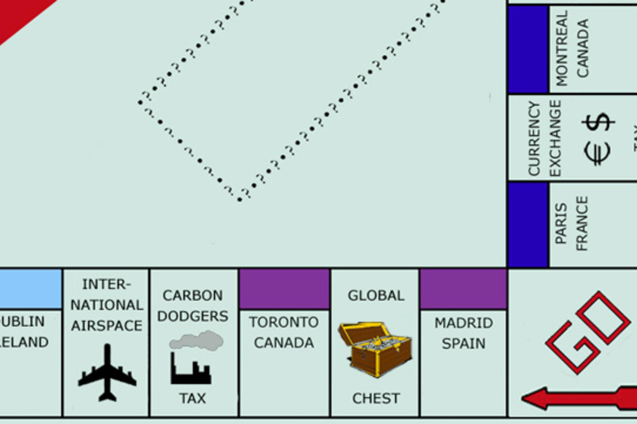 toronto on the world monopoly game