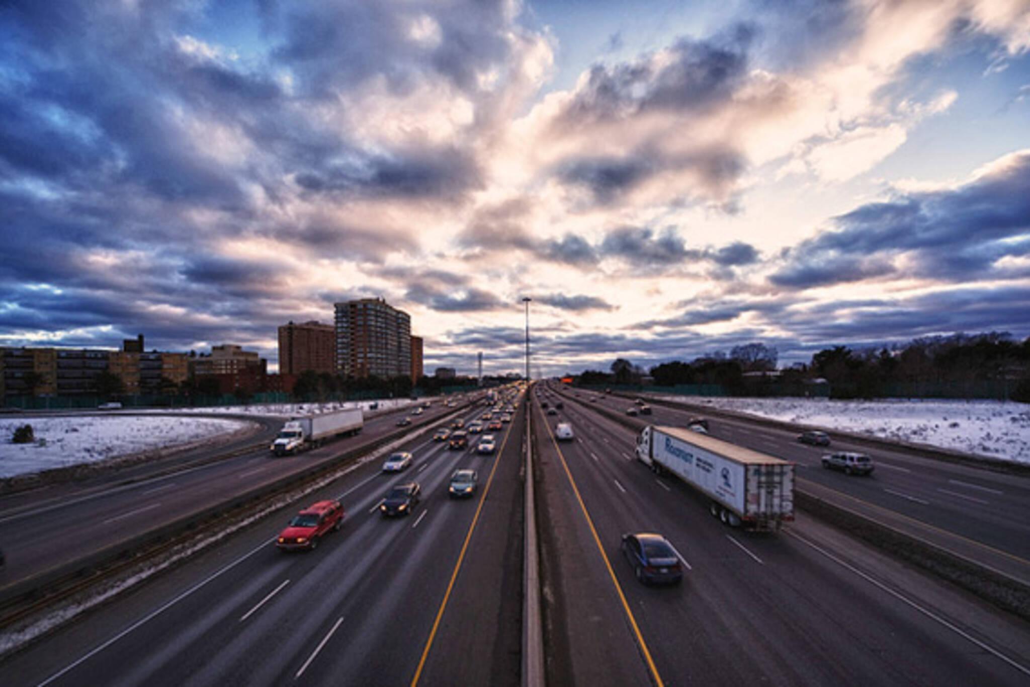 401 Traffic Toronto