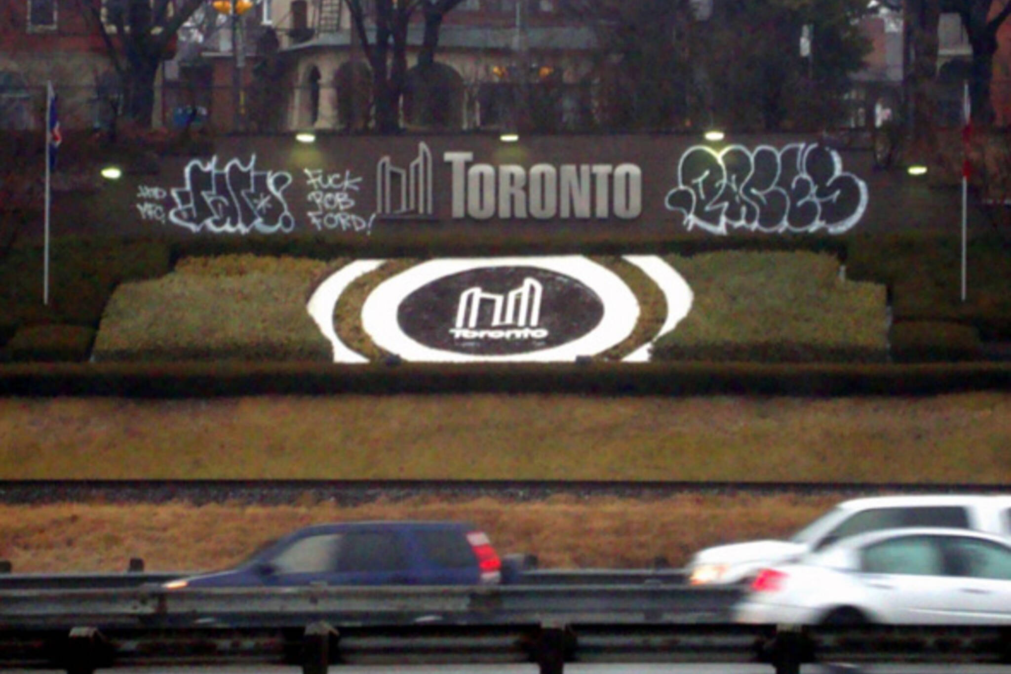 Rob Ford Graffiti