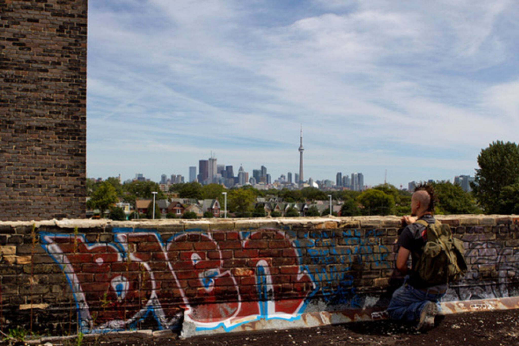 Toronto lookout