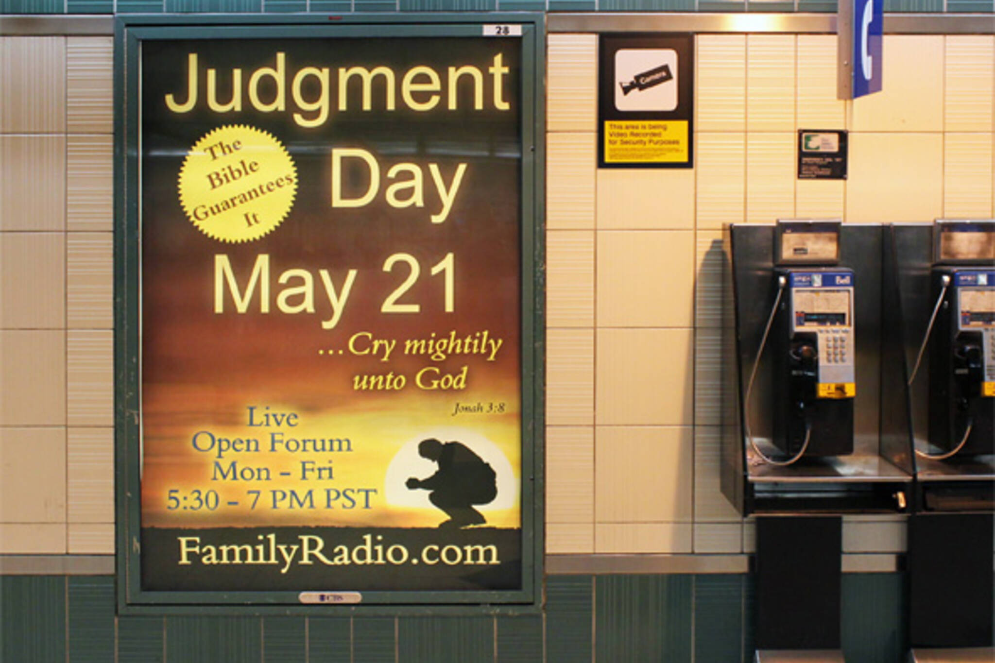 Judgment Day May 21 Rapture