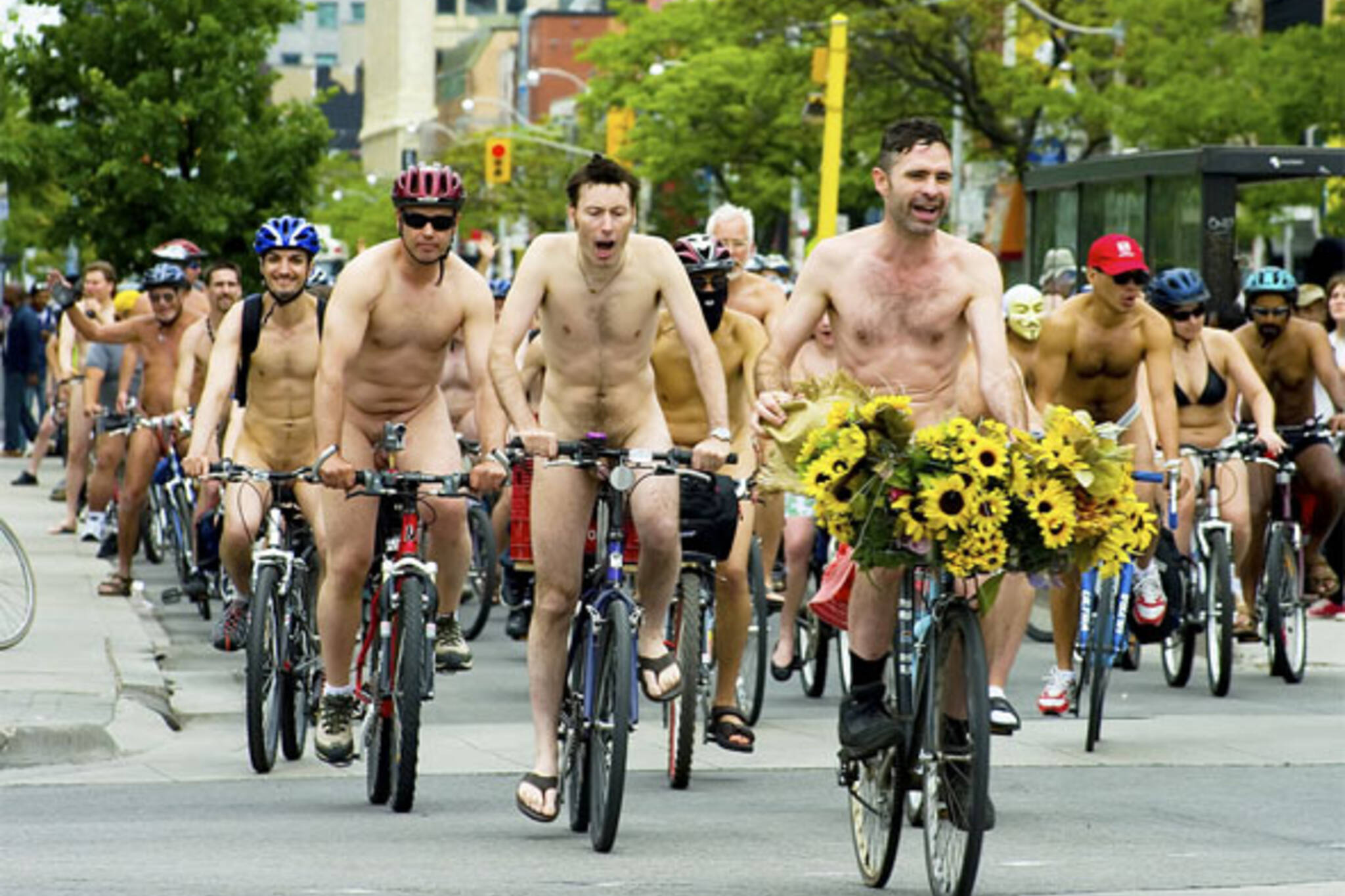 naked bike ride toronto