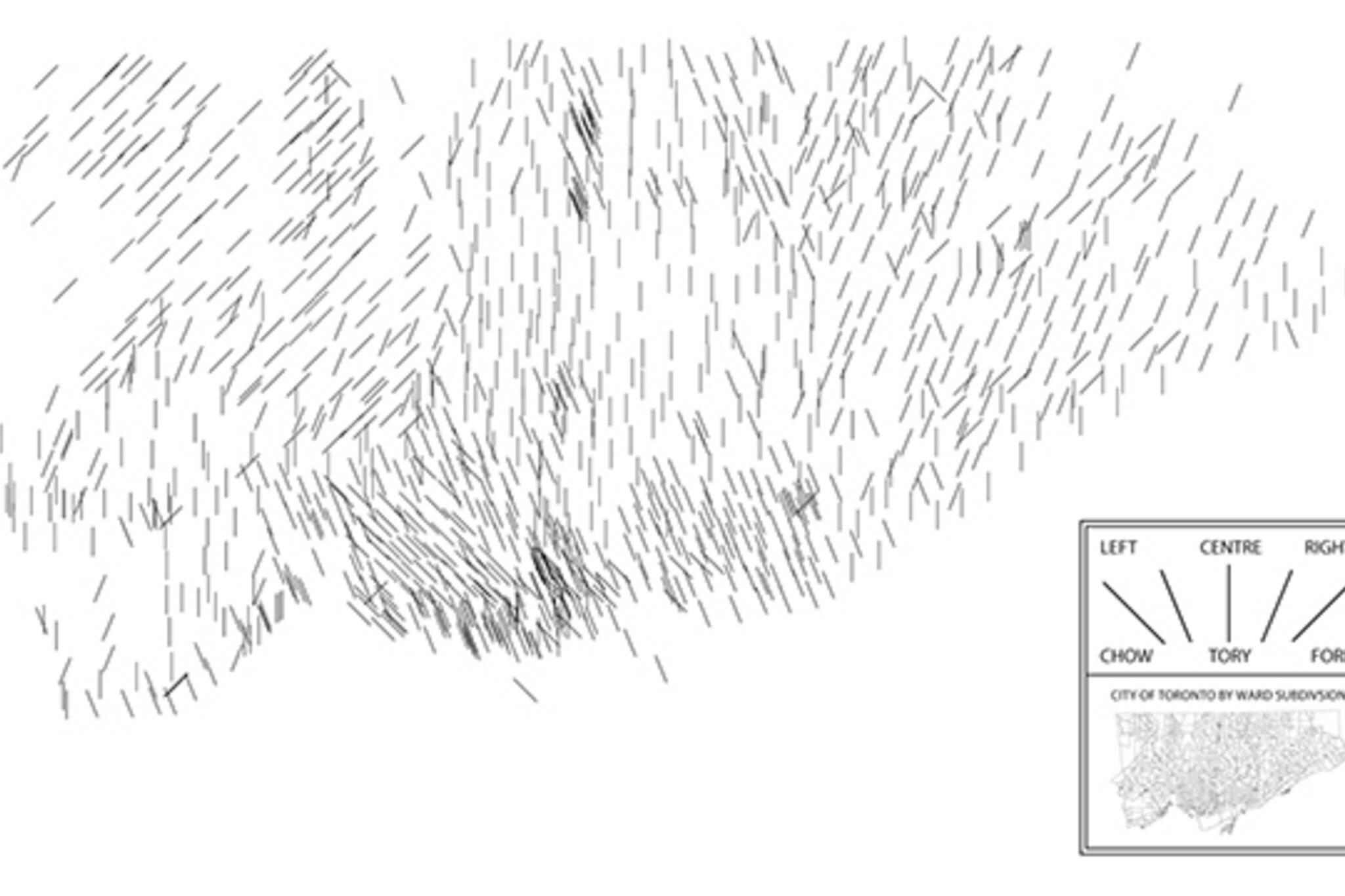 toronto politcal map