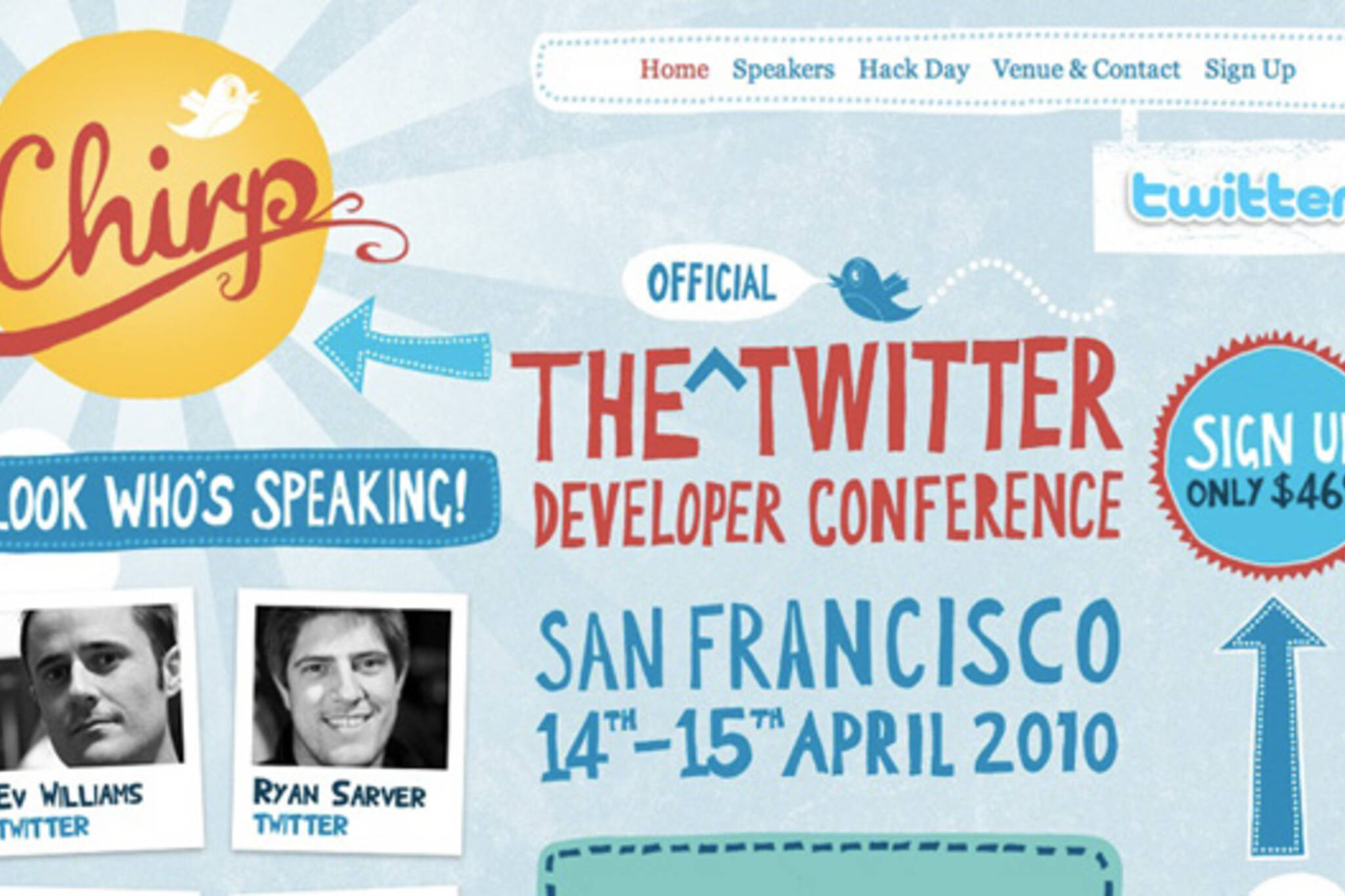 Chirp Twitter Conference