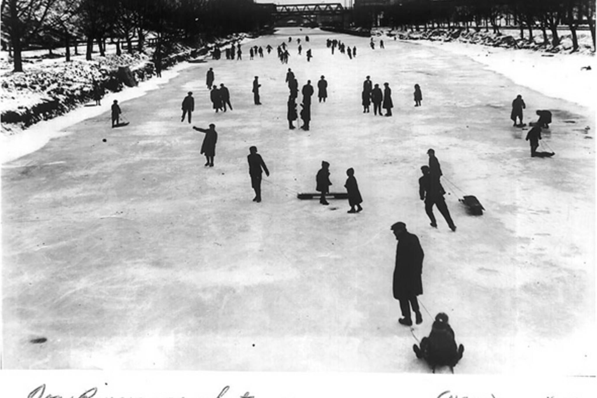 Vintage Photograph Winter