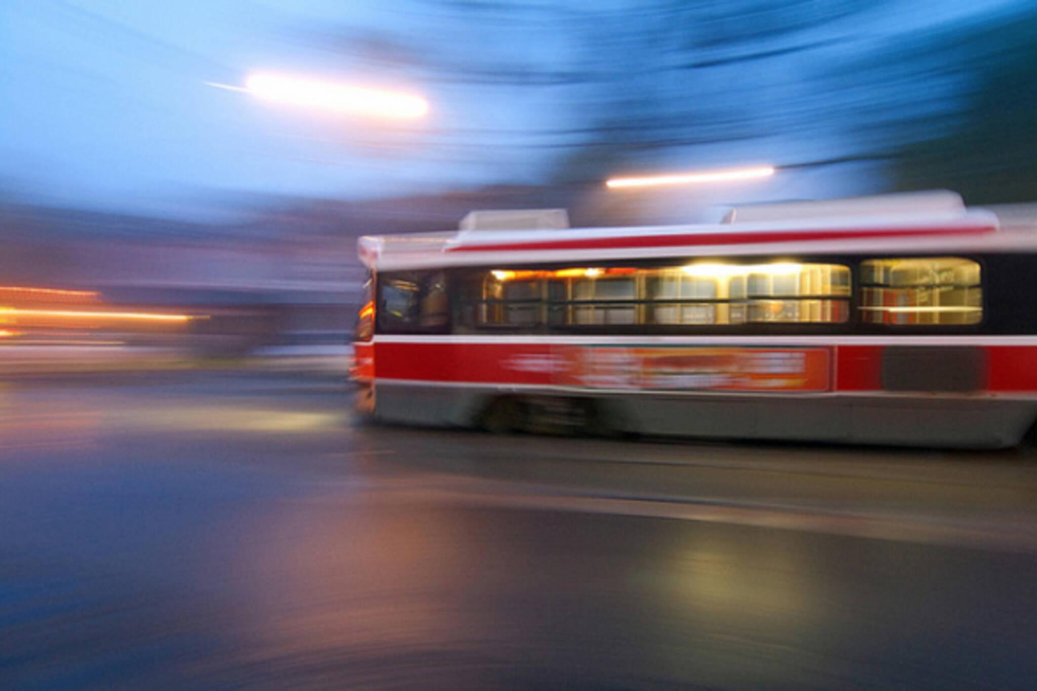 Toronto Fog Streetcar