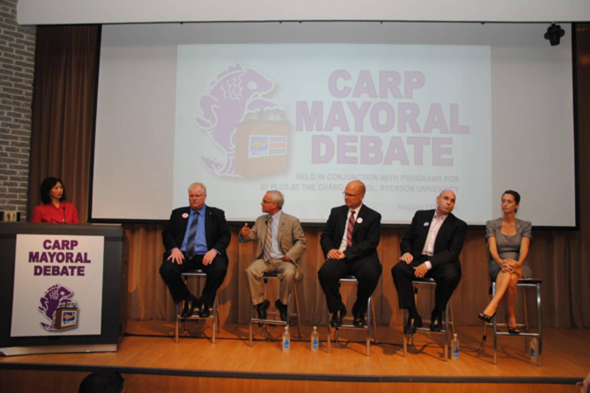 CARP Debate Toronto
