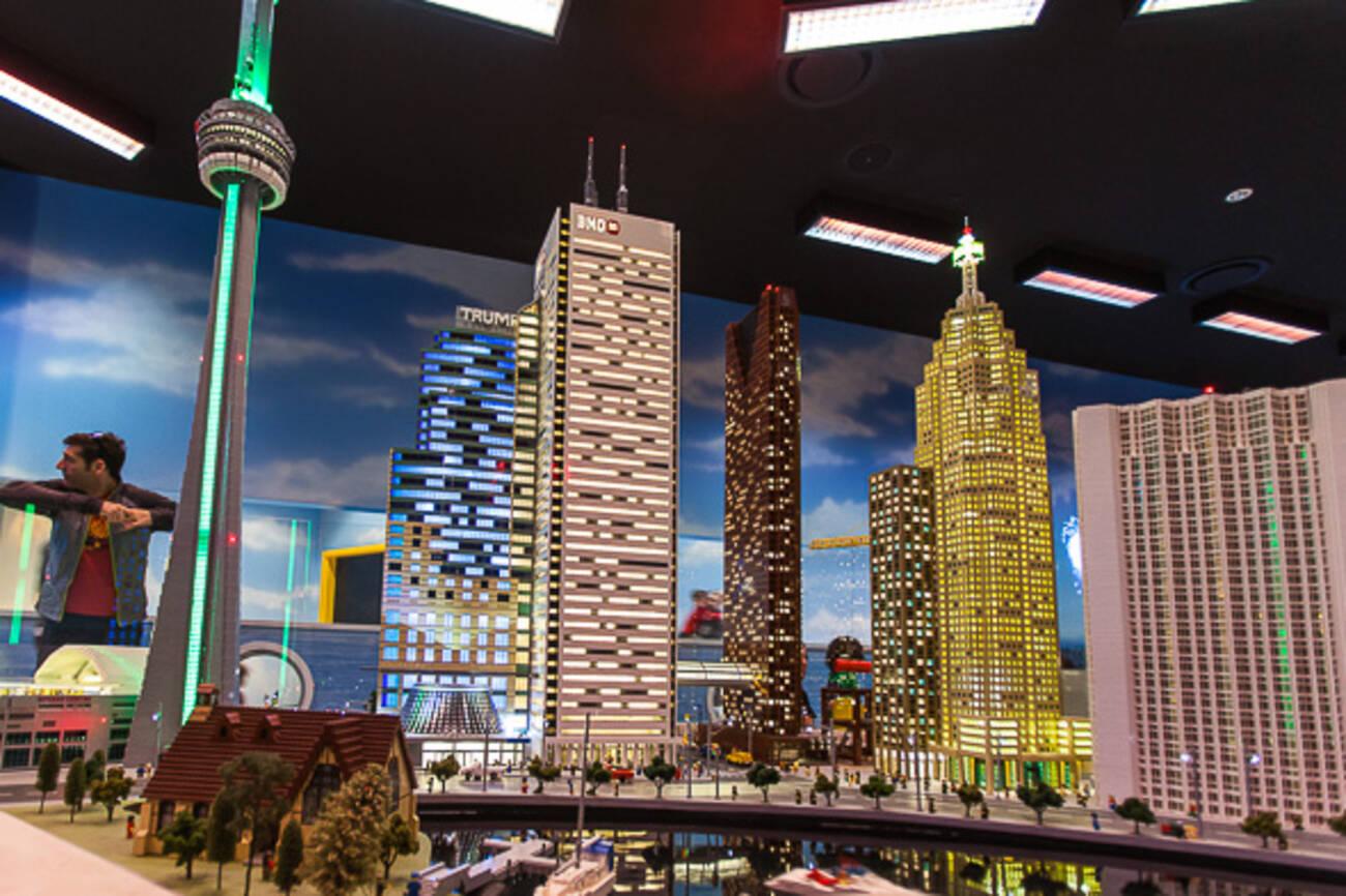 New Legoland Features Stunning Models Of Toronto