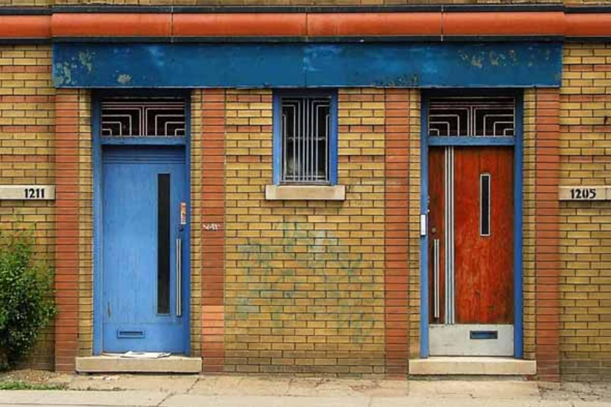 Red Door Blue Door by thruthenight