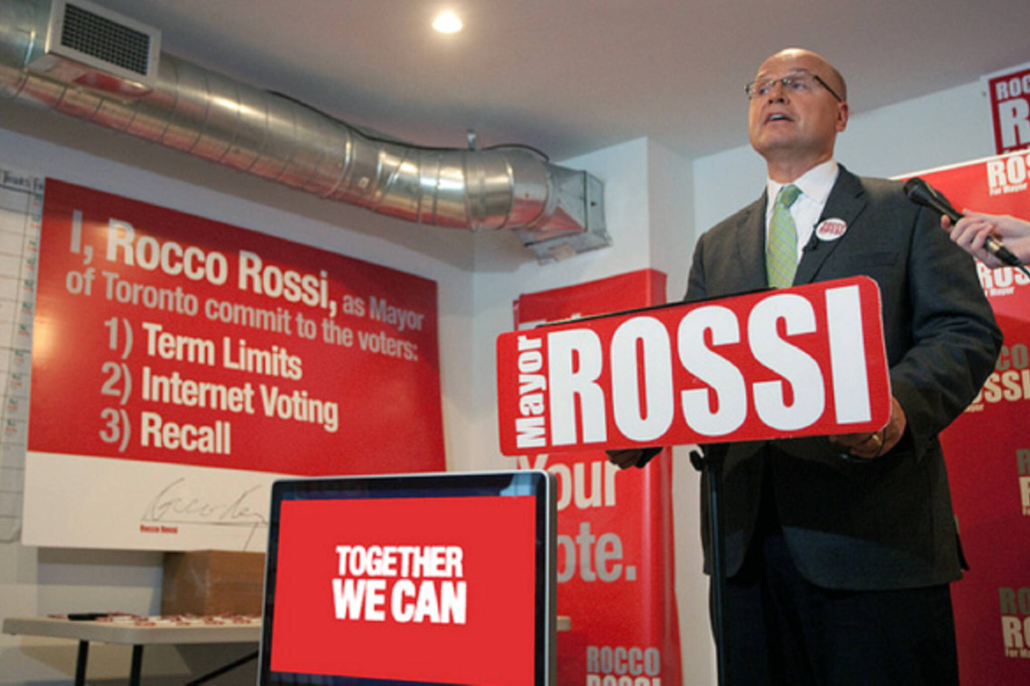Rocco Rossi drops out mayoral race